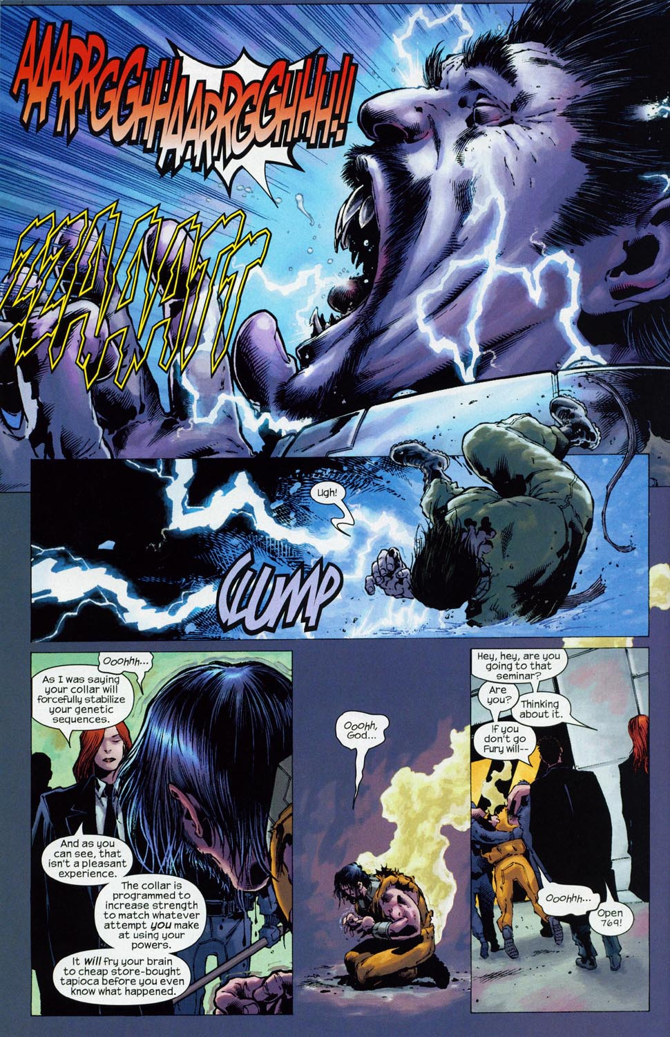 Read online Ultimate Six comic -  Issue #1 - 23