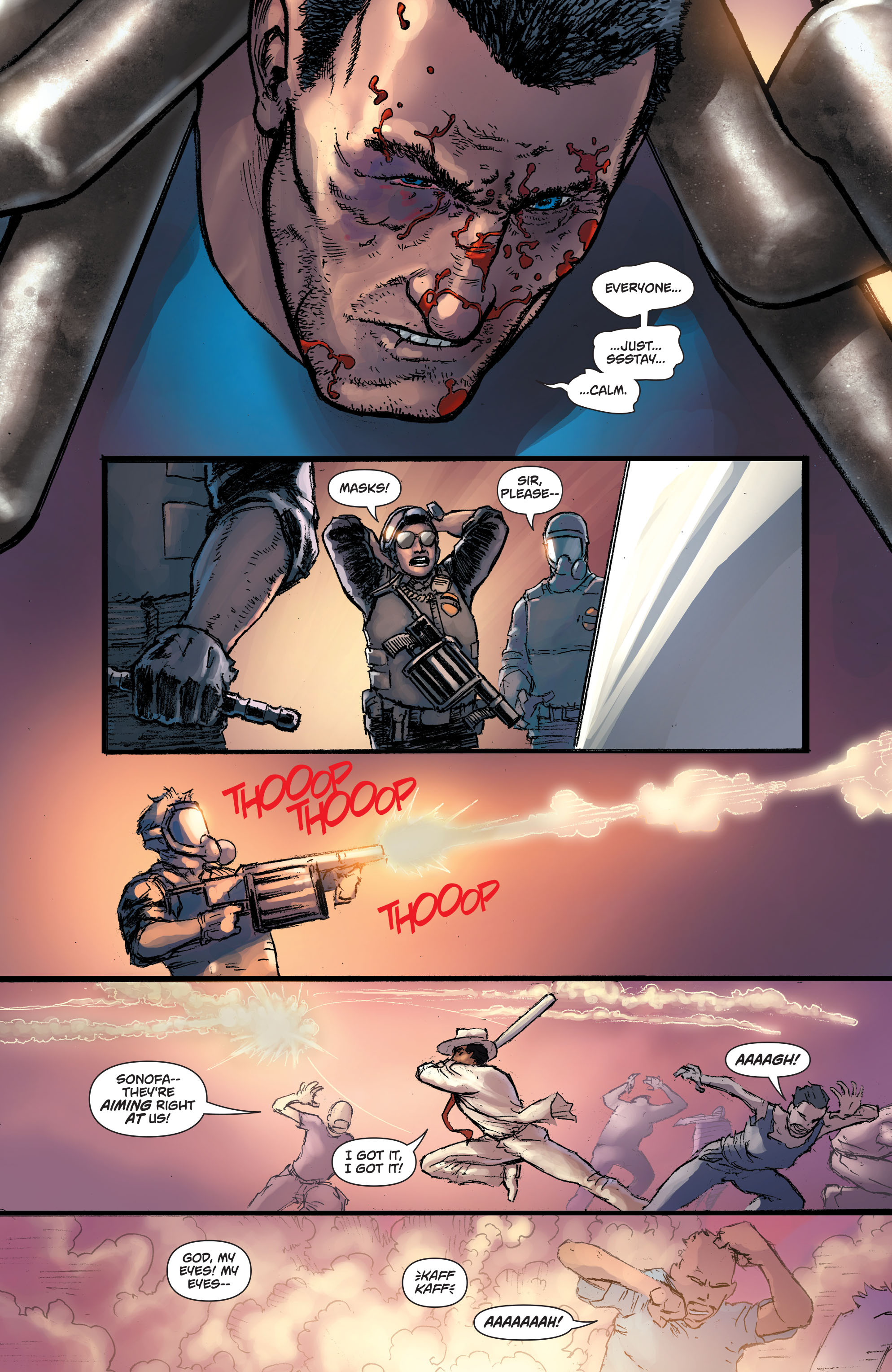 Read online Action Comics (2011) comic -  Issue #42 - 22