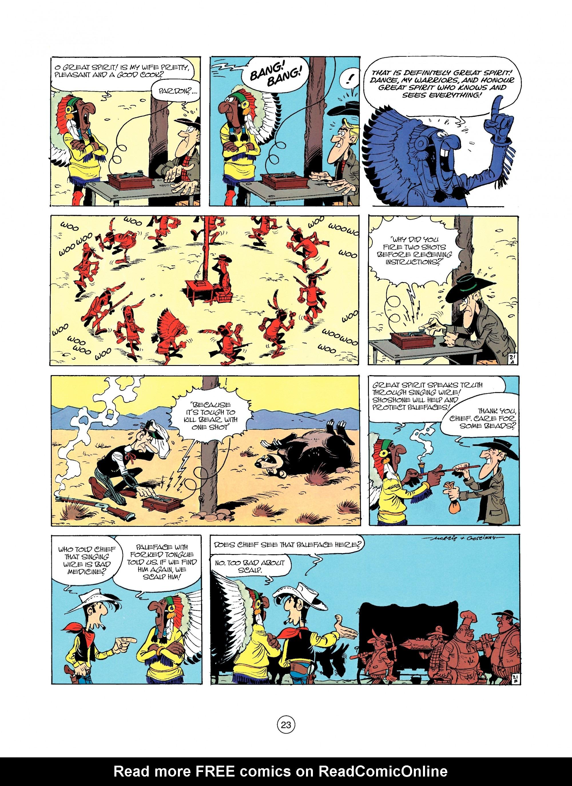 Read online A Lucky Luke Adventure comic -  Issue #35 - 23