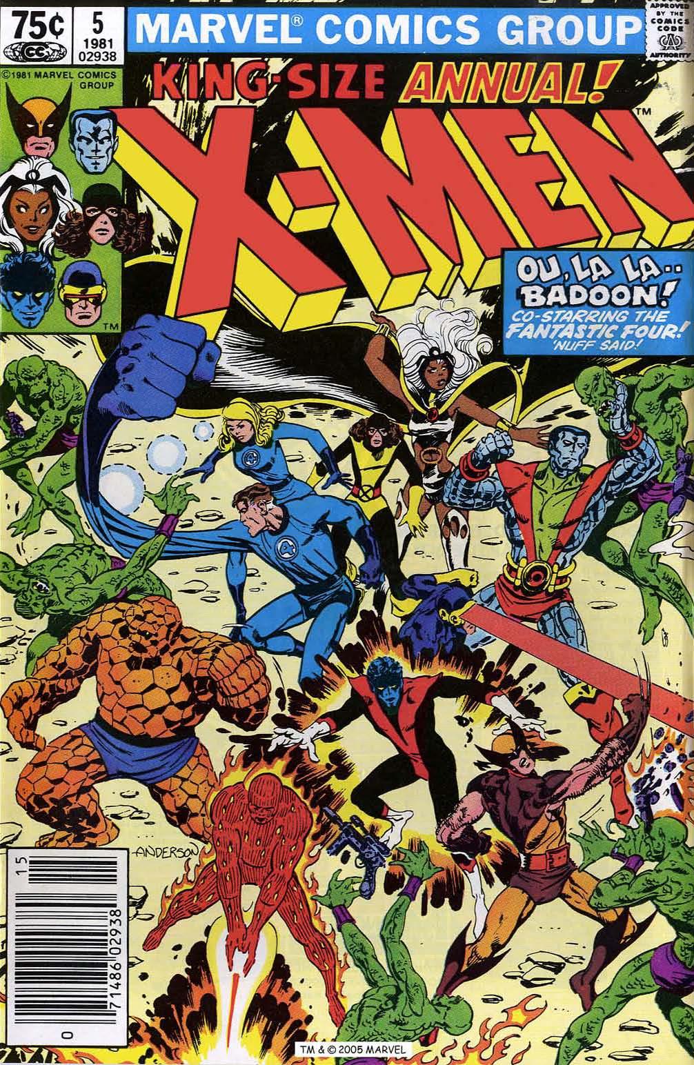 Uncanny X-Men (1963) _Annual_5 Page 1