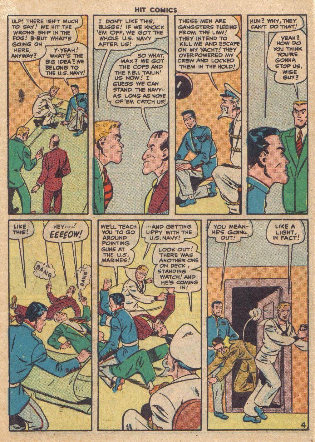 Read online Hit Comics comic -  Issue #46 - 48
