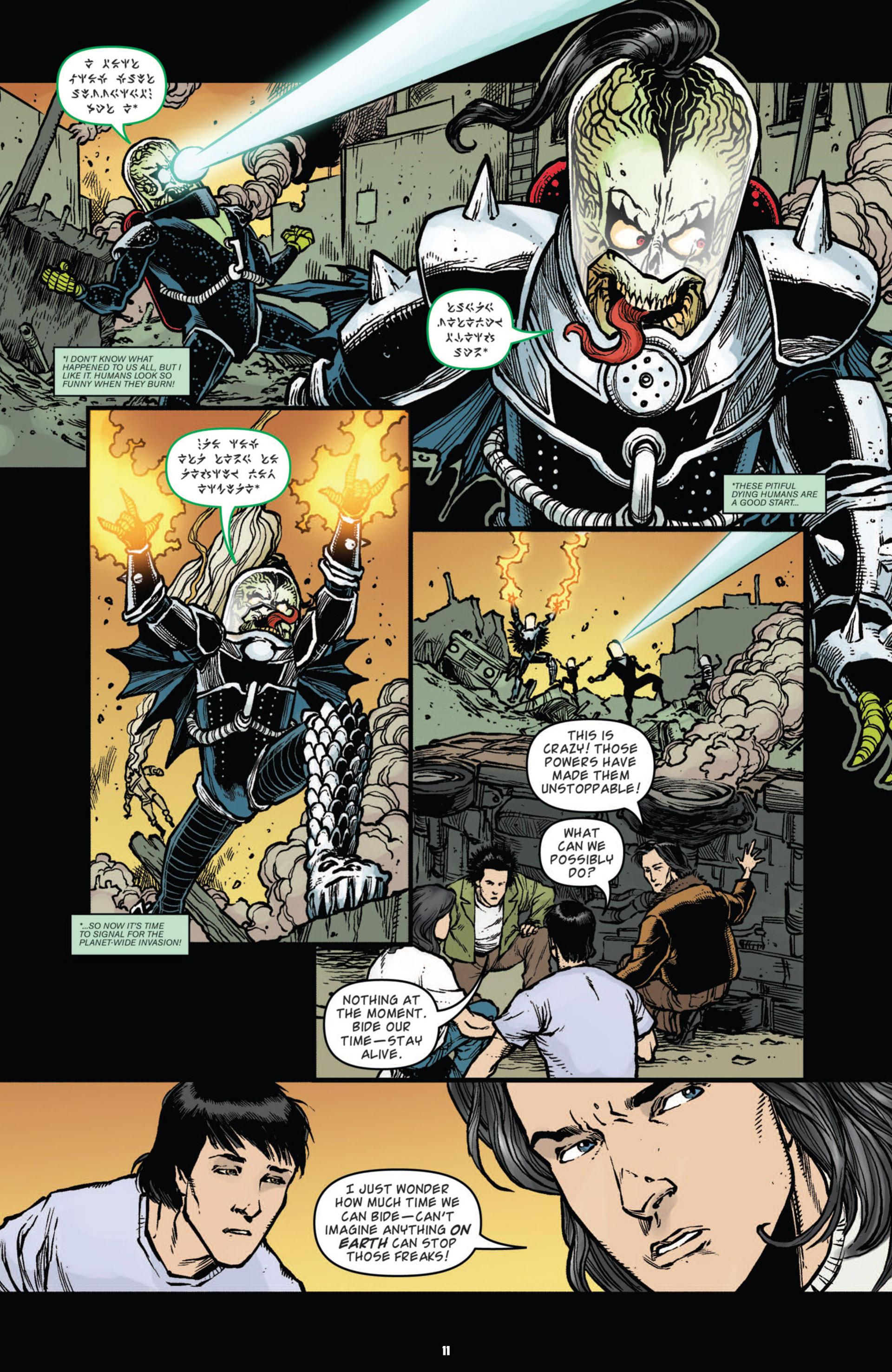 Read Online Mars Attacks Kiss Comic Issue Full