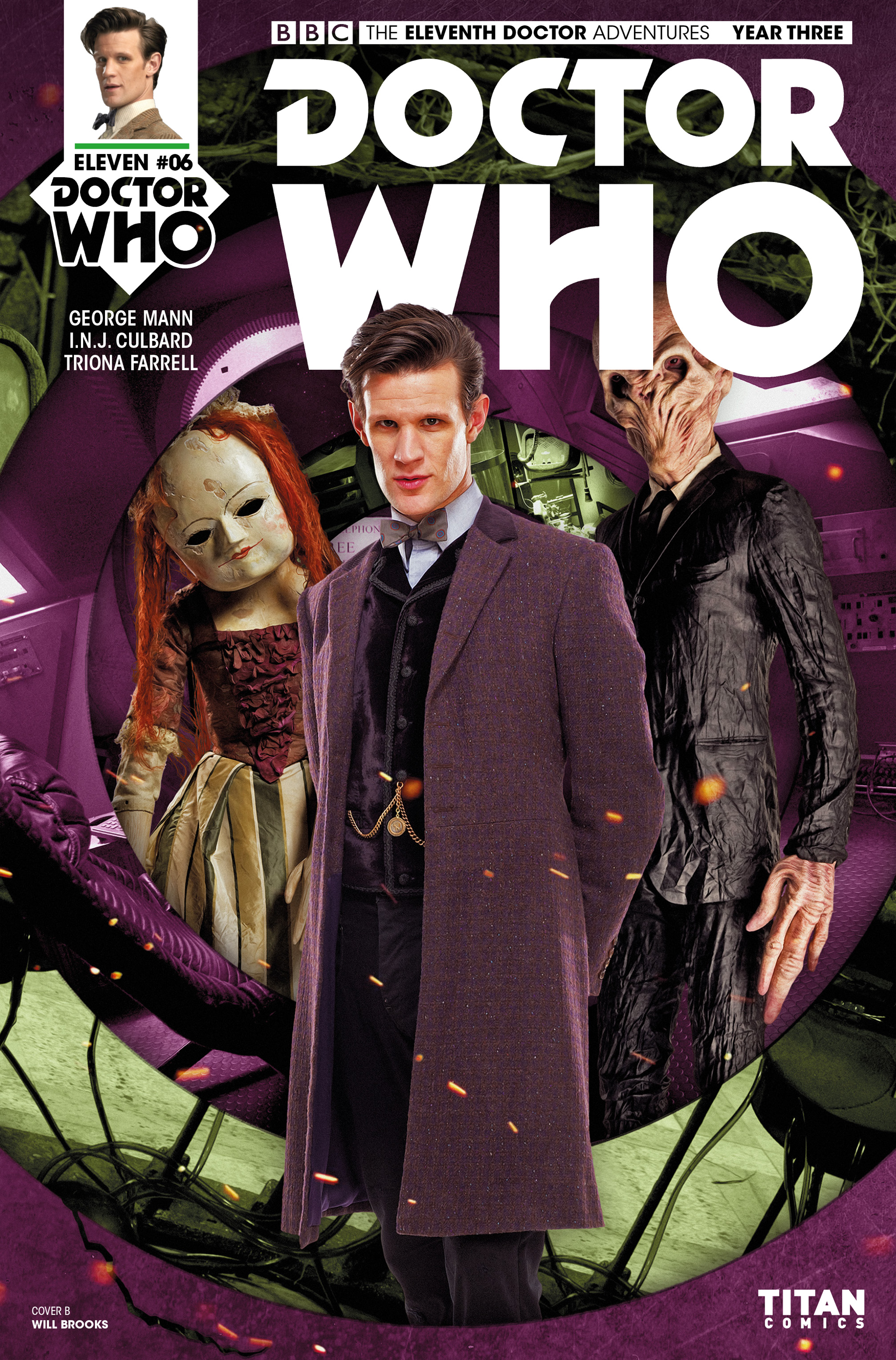 Read online Doctor Who: The Eleventh Doctor Year Three comic -  Issue #6 - 2