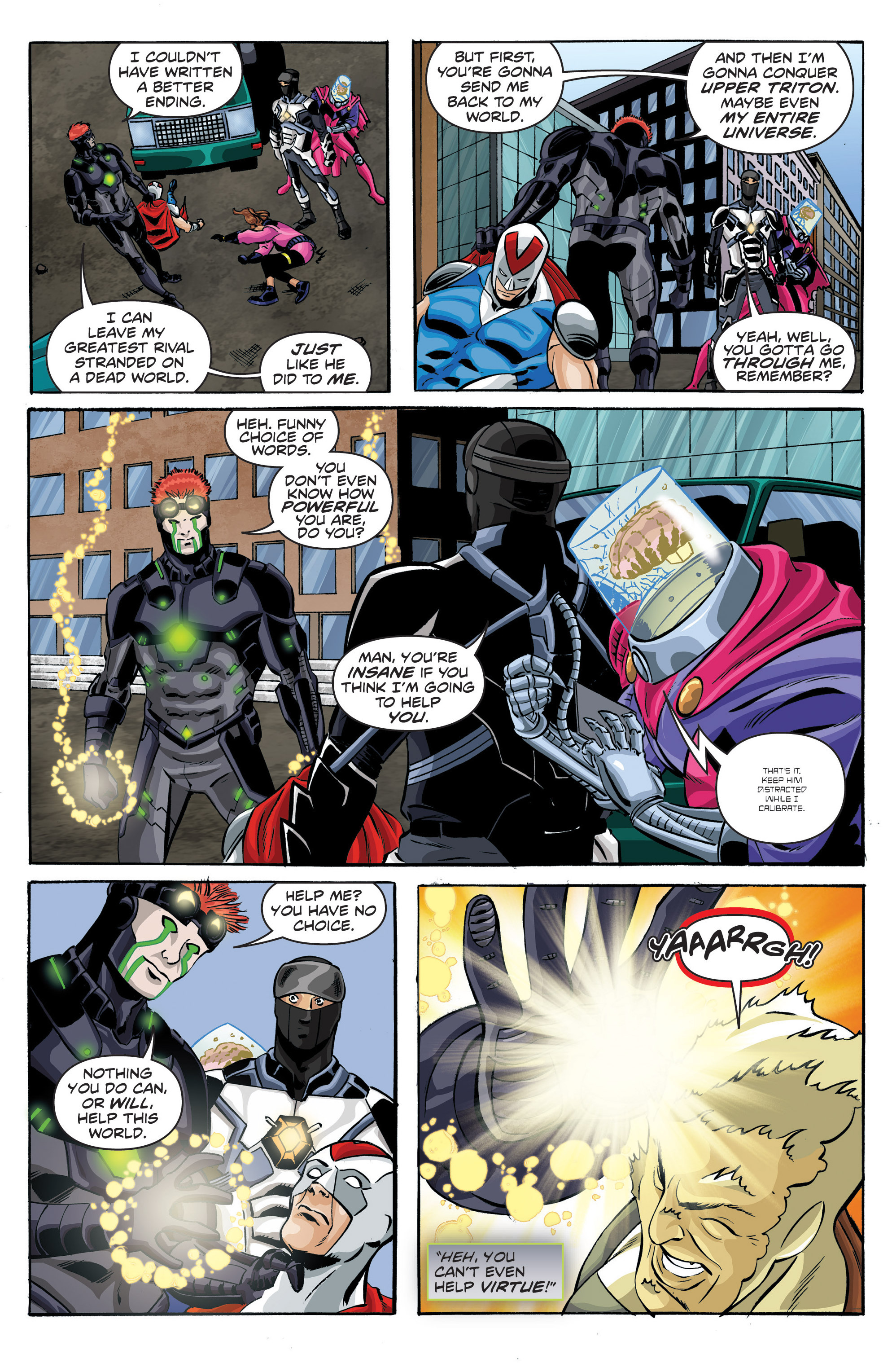 Read online Actionverse comic -  Issue #6 - 11