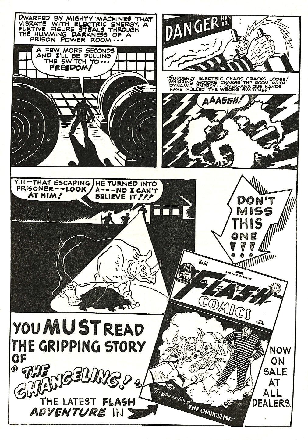 Read online Sensation (Mystery) Comics comic -  Issue #66 - 51