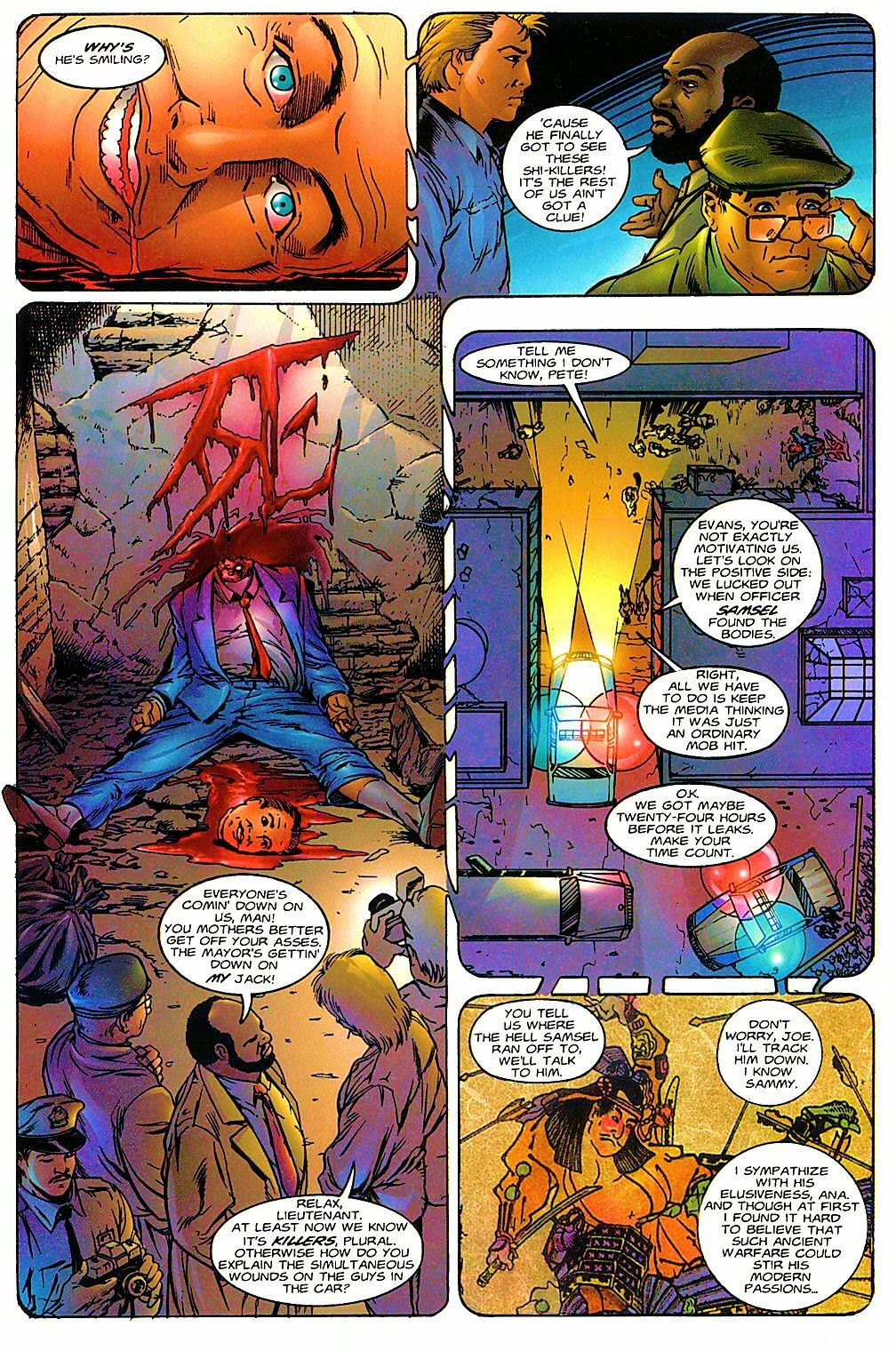 Read online Shi: The Way of the Warrior comic -  Issue #6 - 11