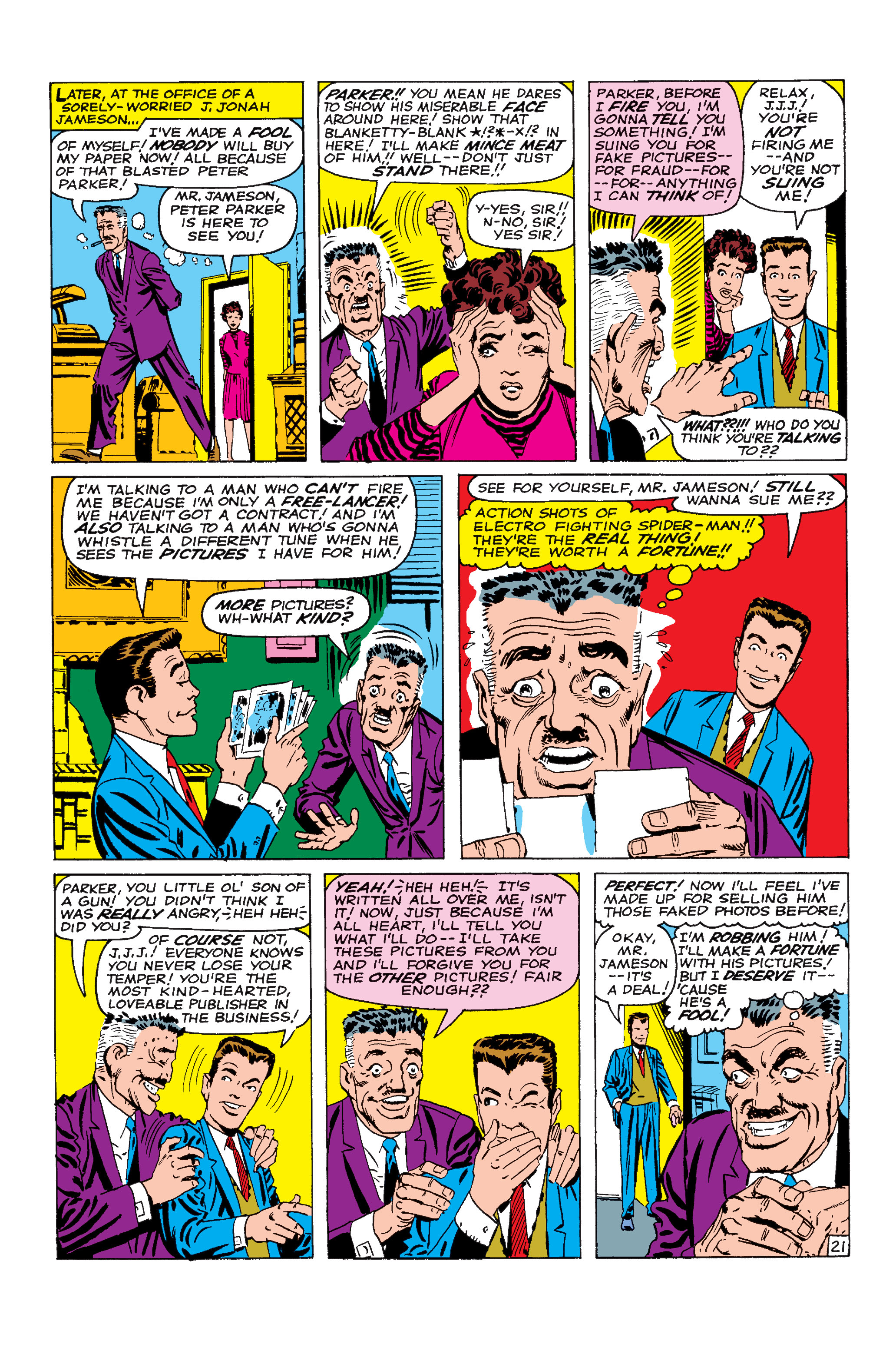 The Amazing Spider-Man (1963) 9 Page 21