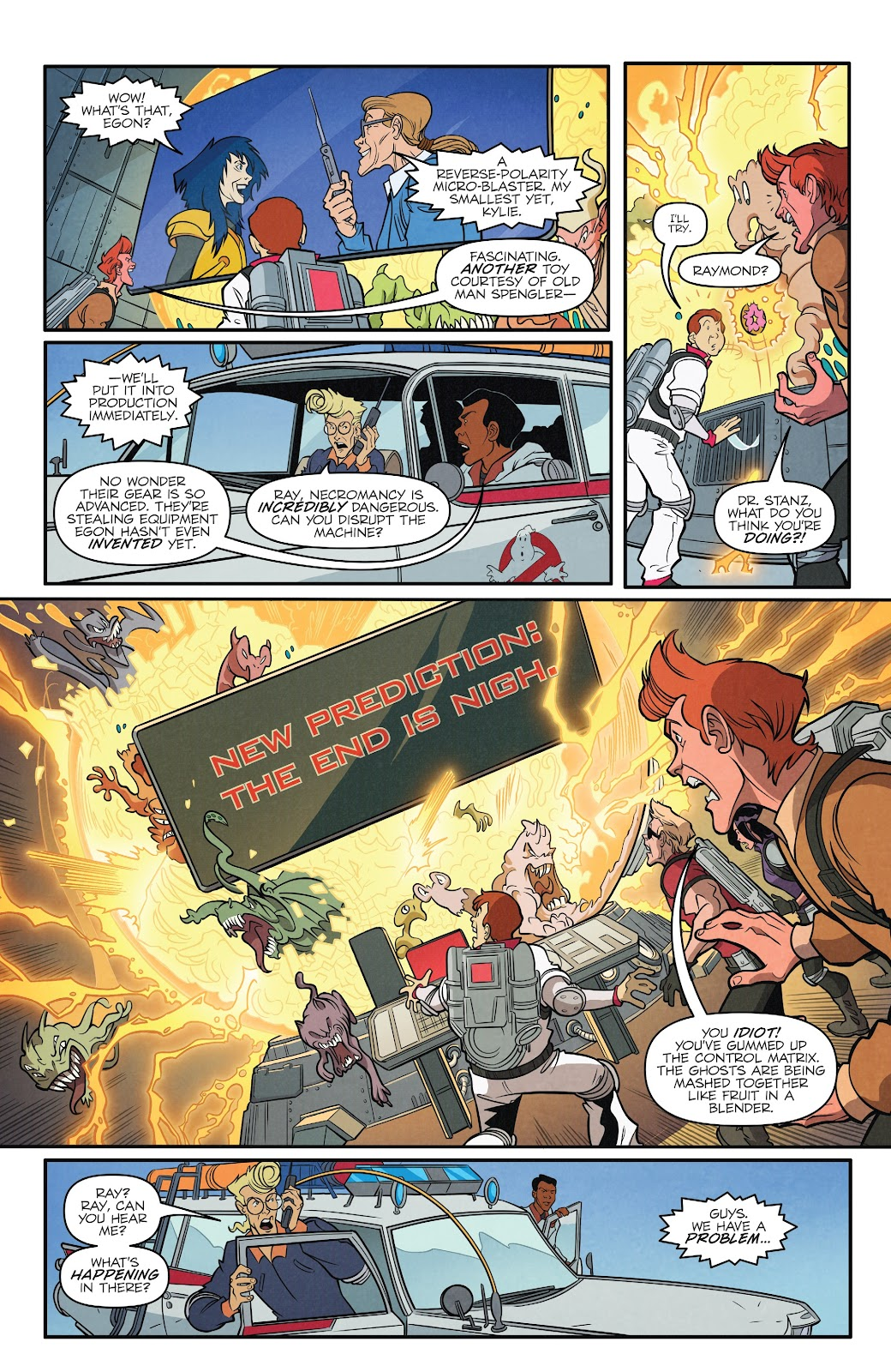 Read online Ghostbusters 35th Anniversary: The Real Ghostbusters comic -  Issue # Full - 19