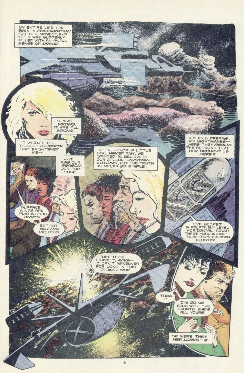 Read online Aliens: Earth War comic -  Issue #3 - 7