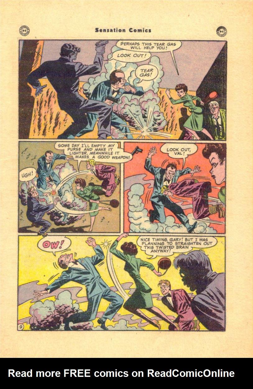 Read online Sensation (Mystery) Comics comic -  Issue #84 - 27