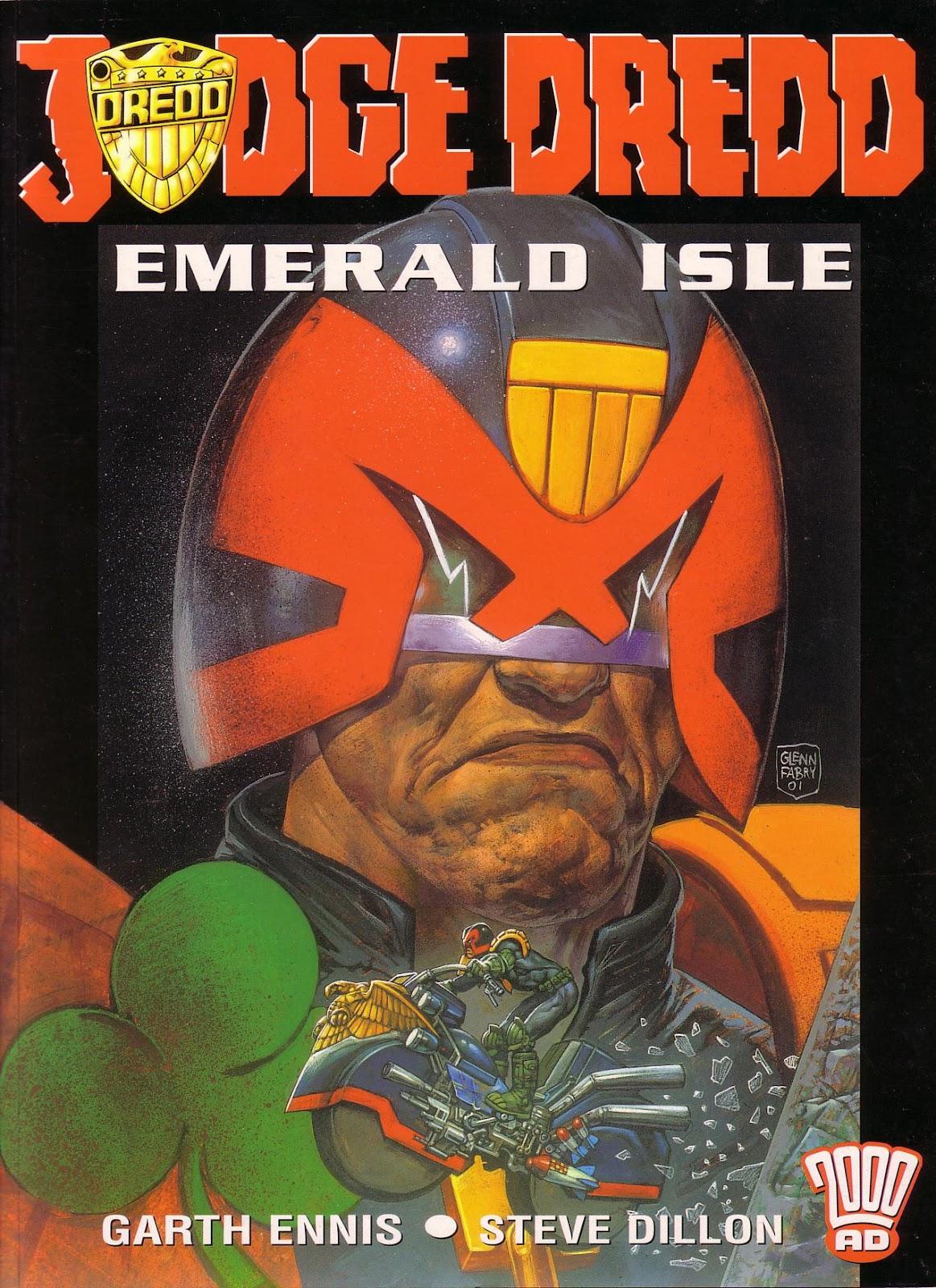Judge Dredd: Emerald Isle TPB Page 1