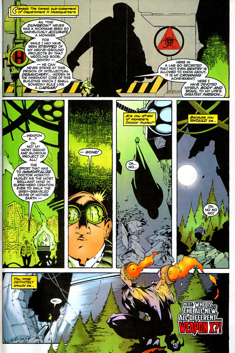Read online Alpha Flight (1997) comic -  Issue #17 - 24