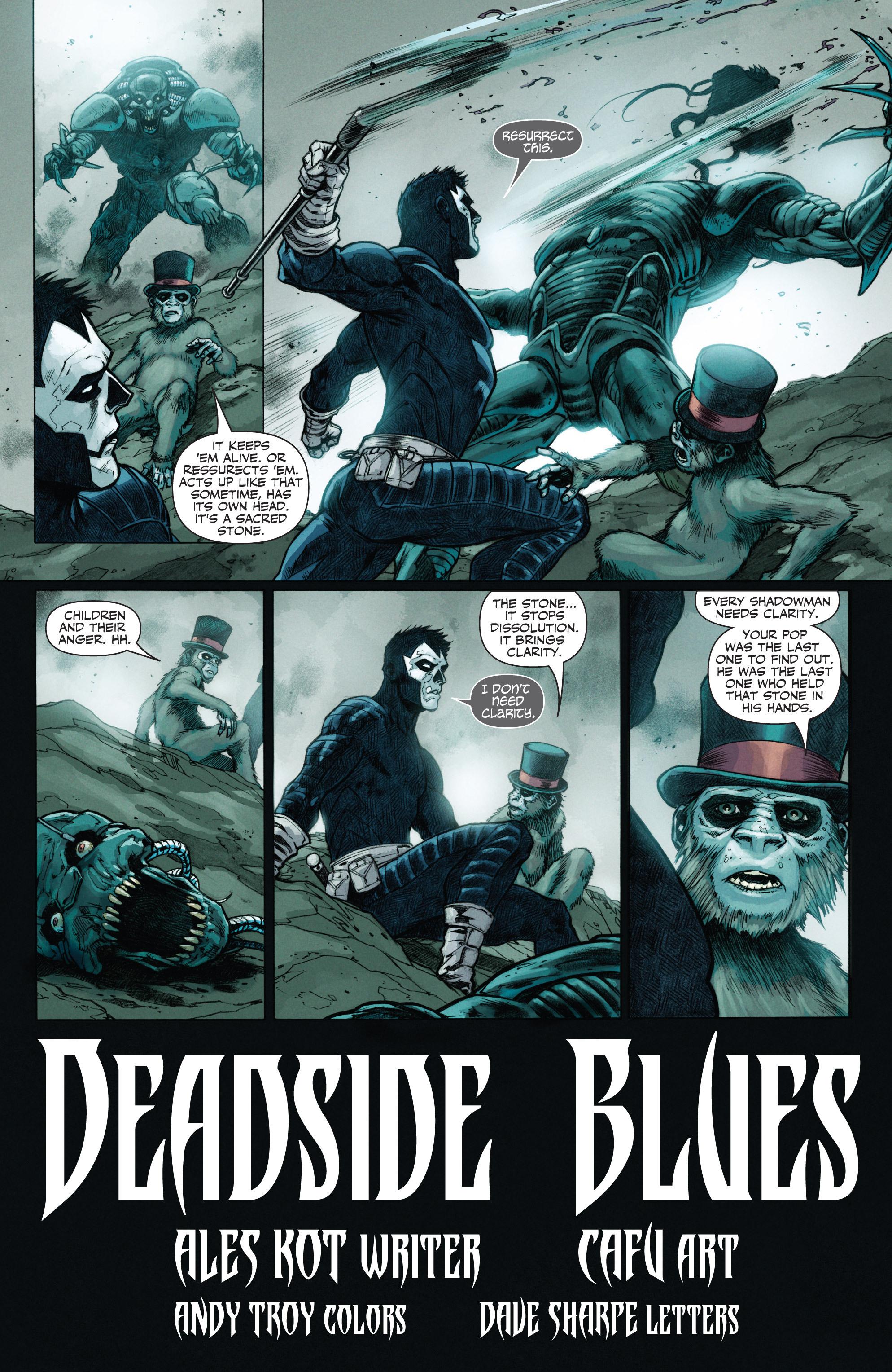 Read online Shadowman (2012) comic -  Issue #12 - 4