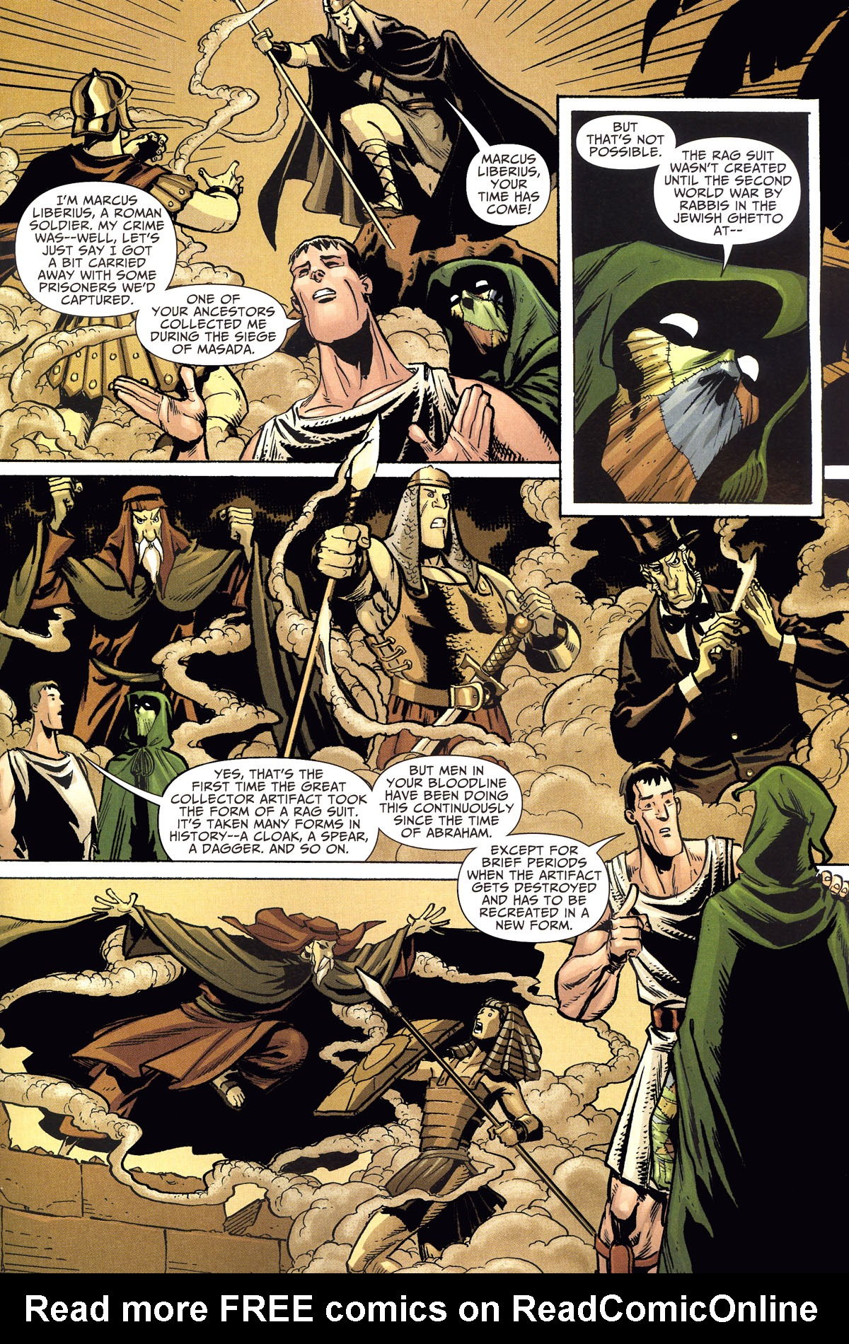 Read online Shadowpact comic -  Issue #8 - 15