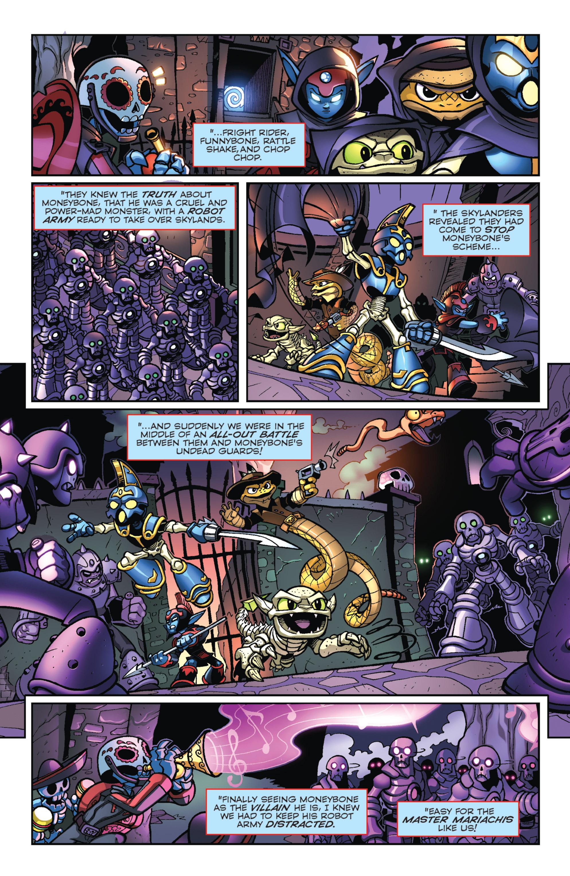 Read online Skylanders Superchargers comic -  Issue #3 - 20