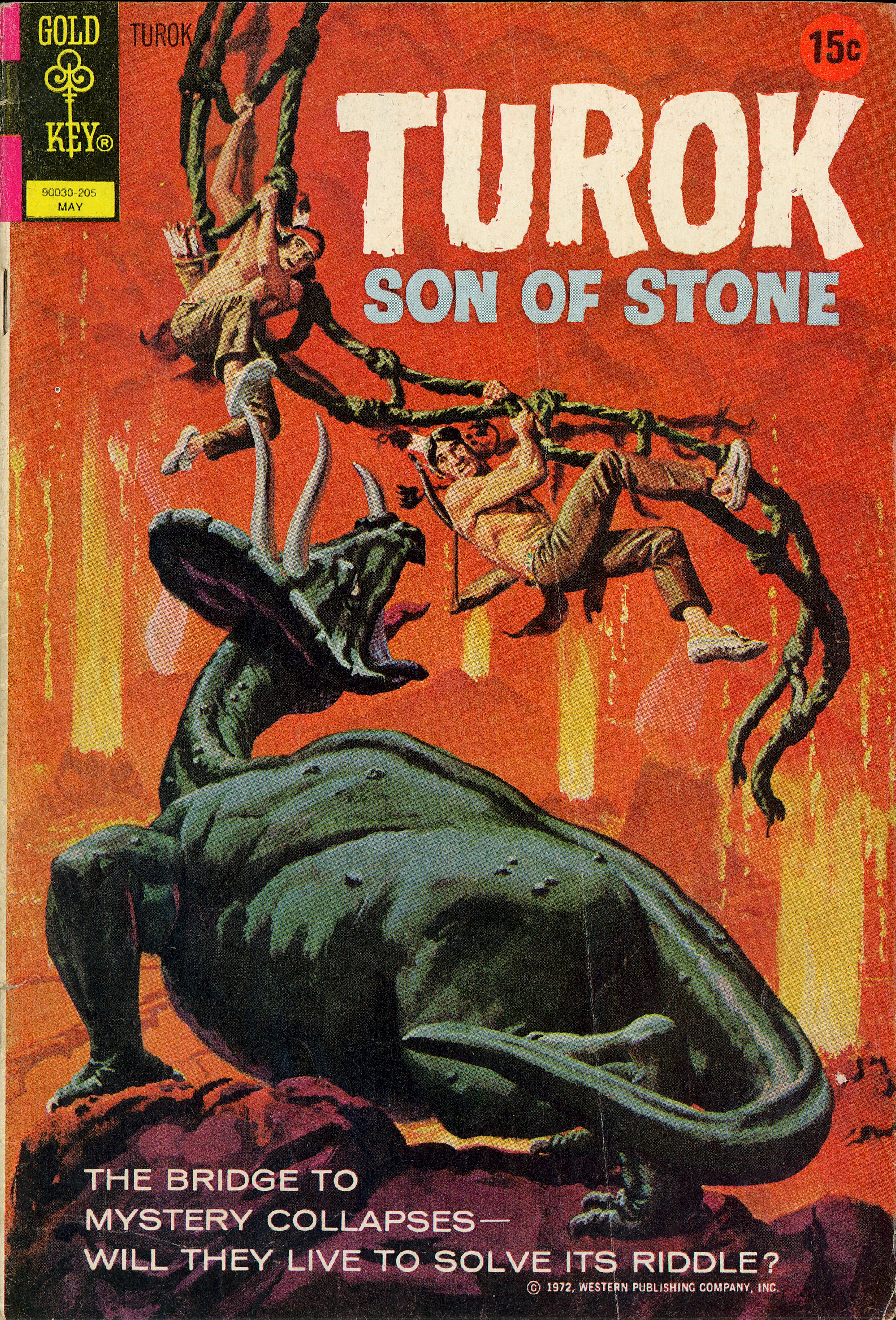 Read online Turok, Son of Stone comic -  Issue #78 - 1