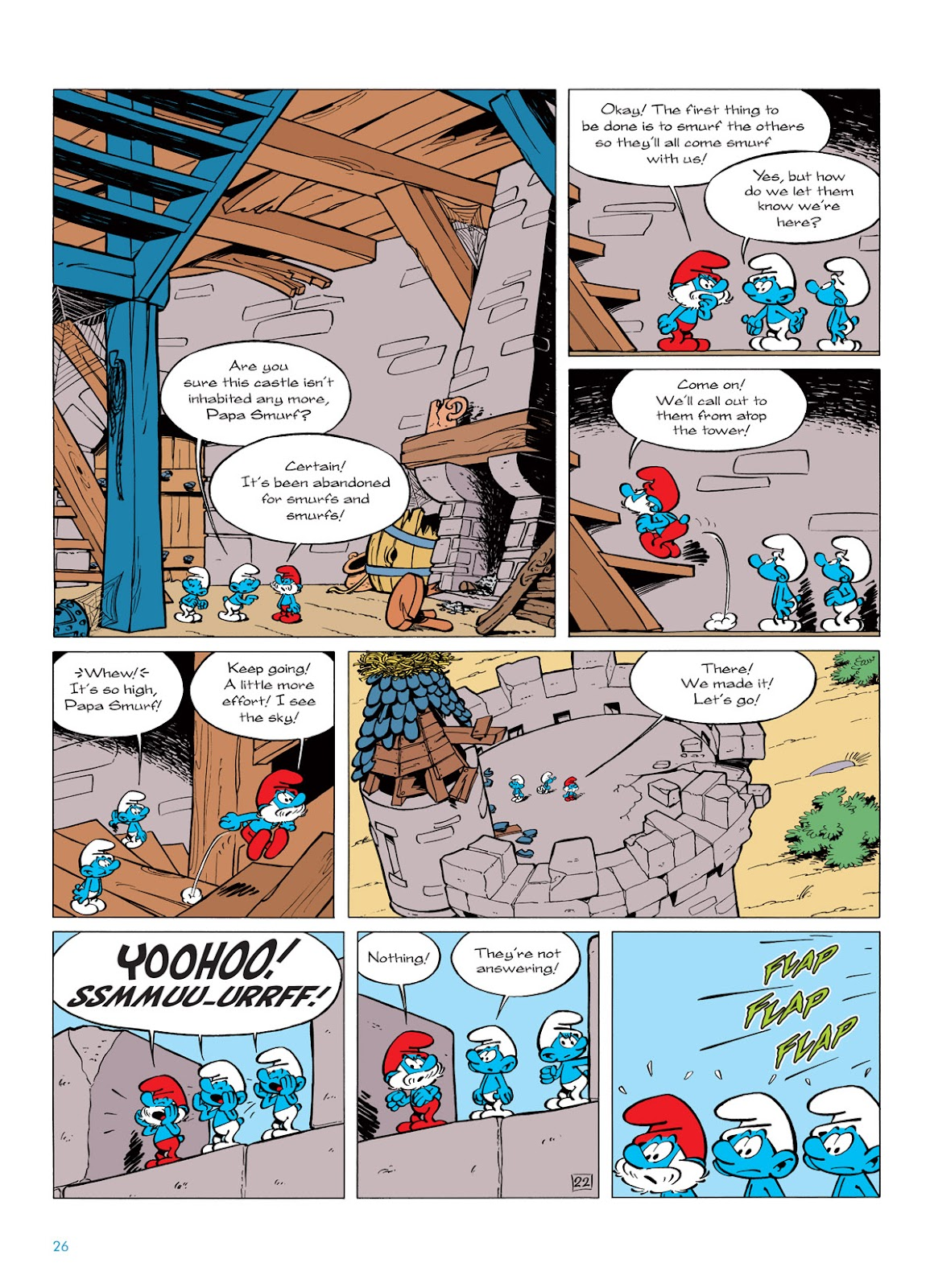 Read online The Smurfs comic -  Issue #6 - 26