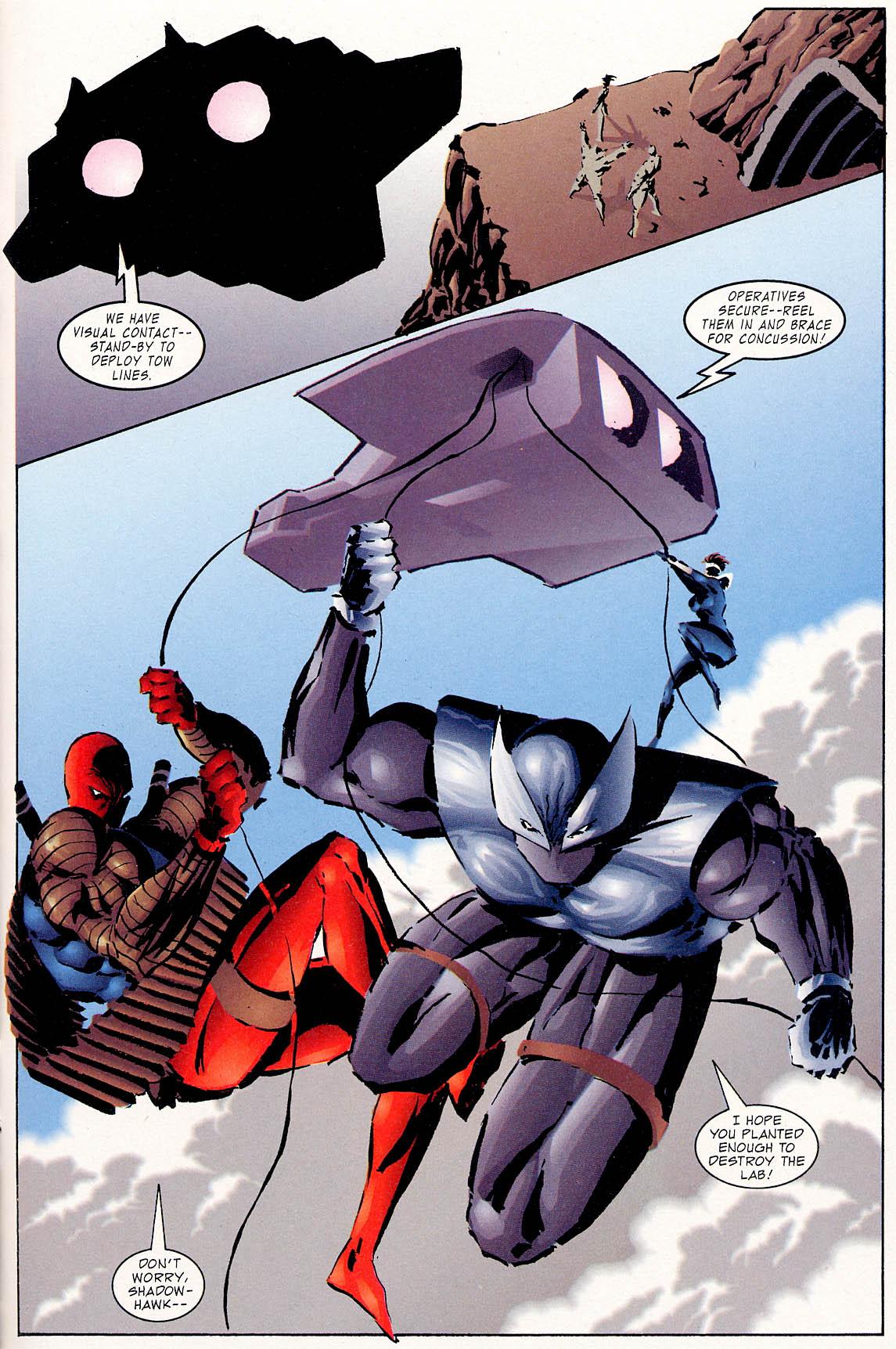 Read online ShadowHawk comic -  Issue #0 - 17