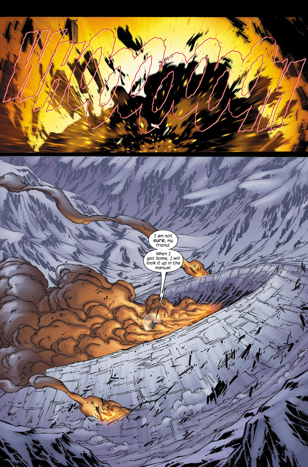 Read online Ultimate Fantastic Four (2004) comic -  Issue #49 - 22