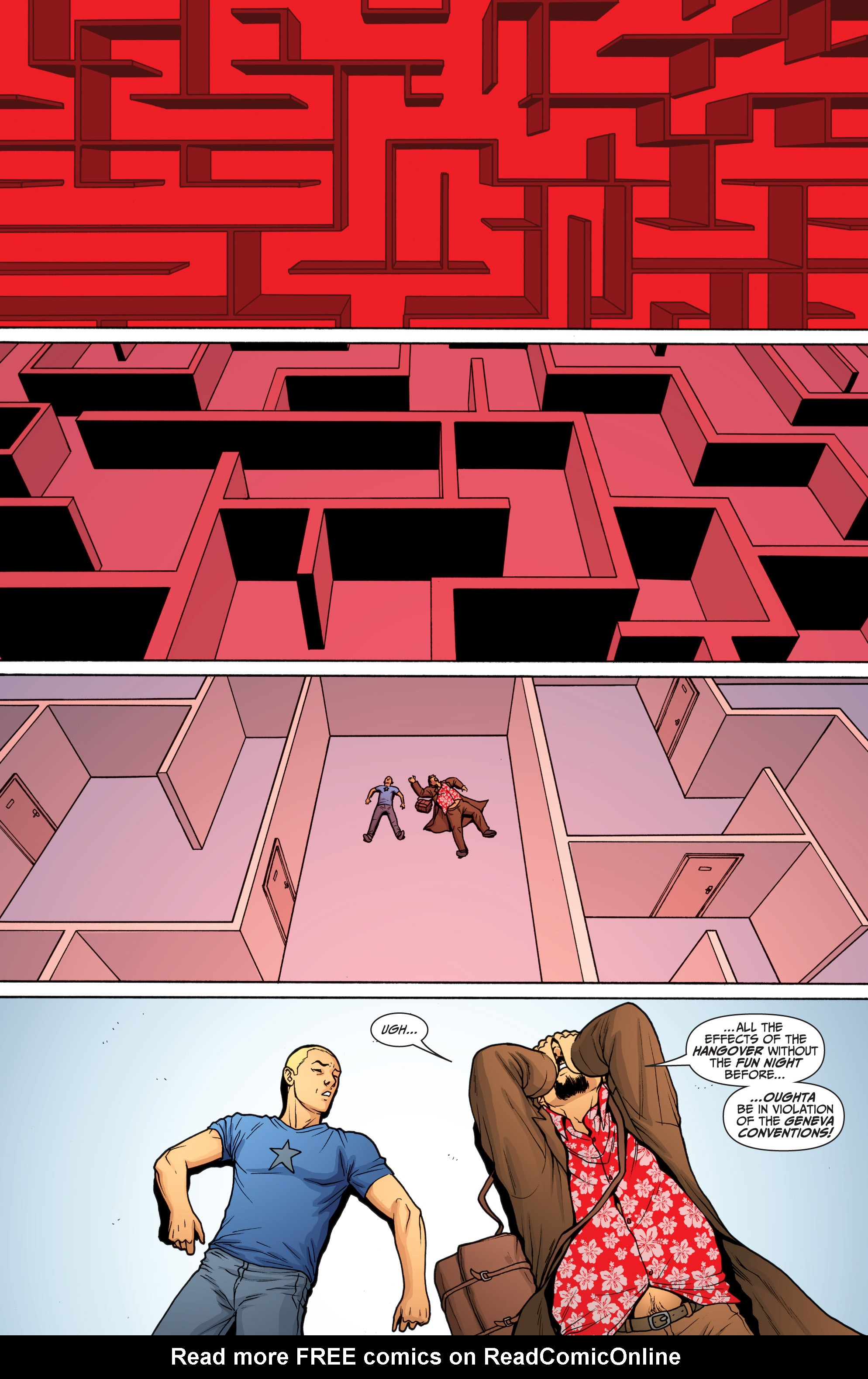 Read online Archer and Armstrong comic -  Issue #Archer and Armstrong _TPB 6 - 21