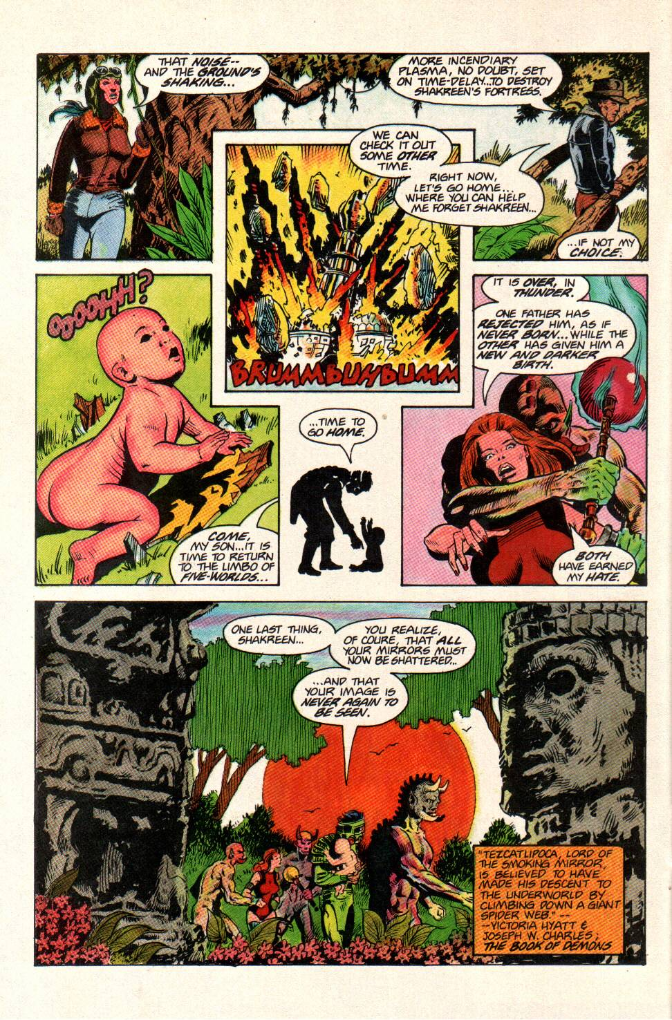 Read online Aztec Ace comic -  Issue #11 - 23