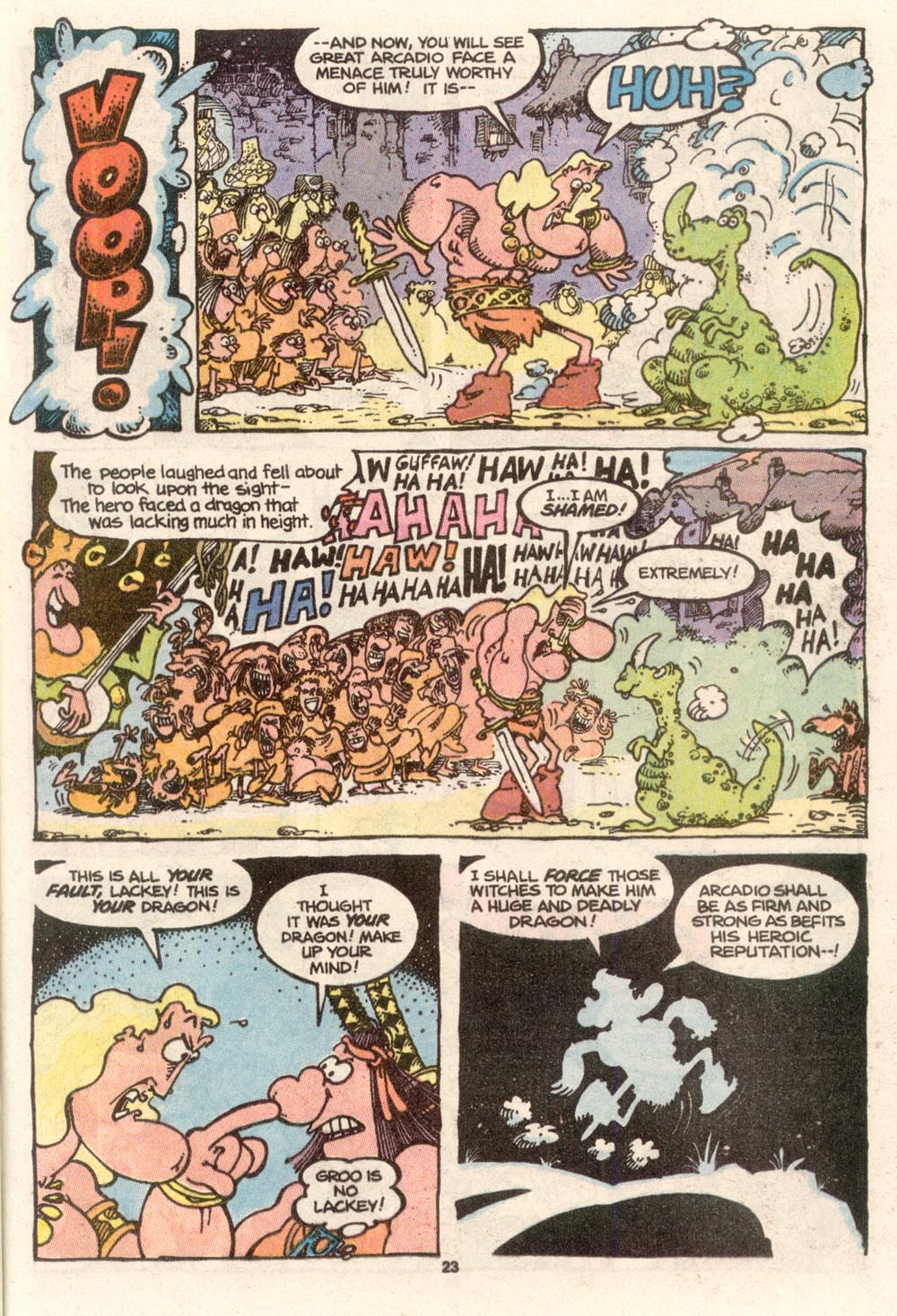 Read online Sergio Aragonés Groo the Wanderer comic -  Issue #68 - 18