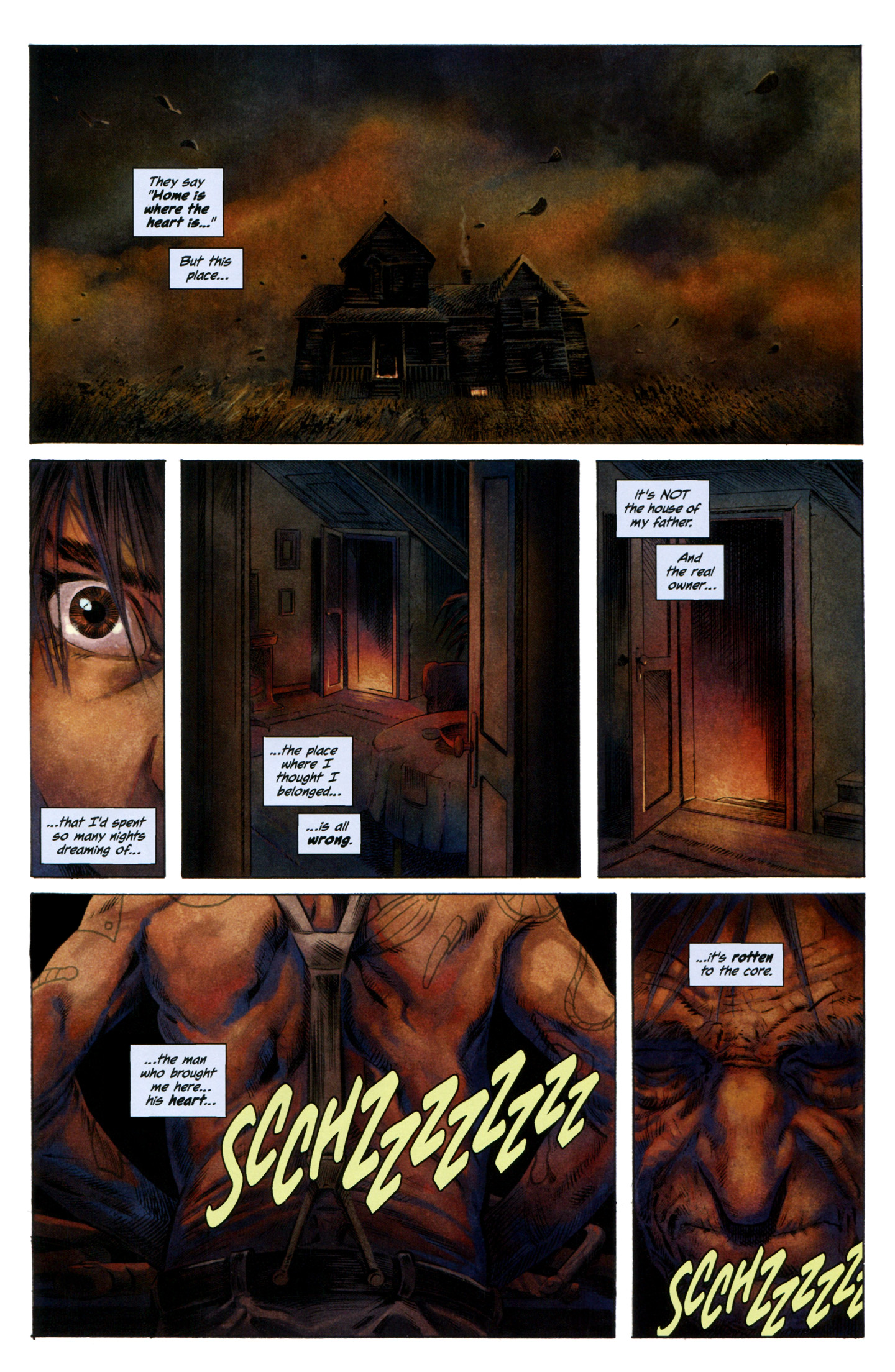 Read online Severed comic -  Issue #7 - 3