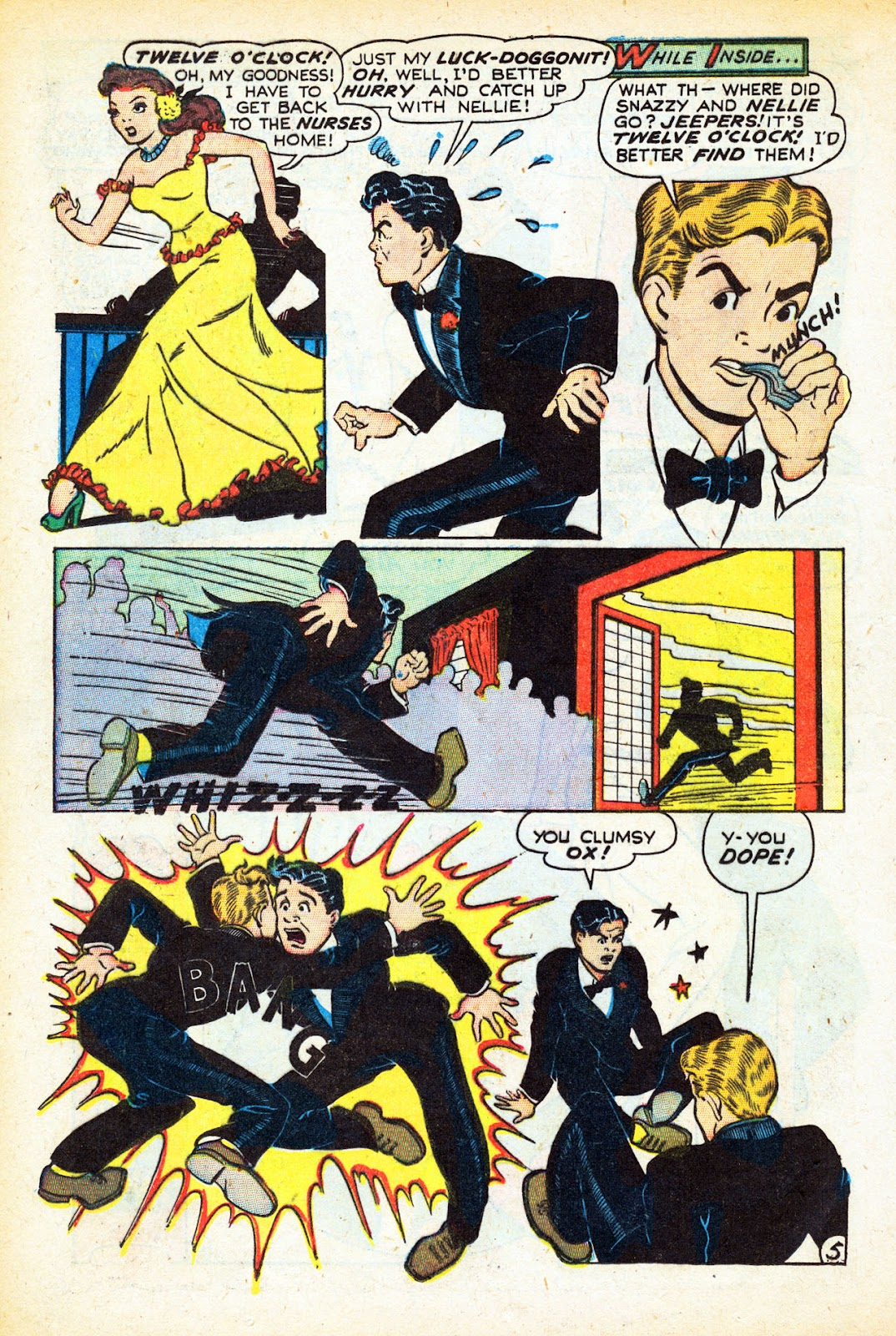 Read online Nellie The Nurse (1945) comic -  Issue #12 - 16