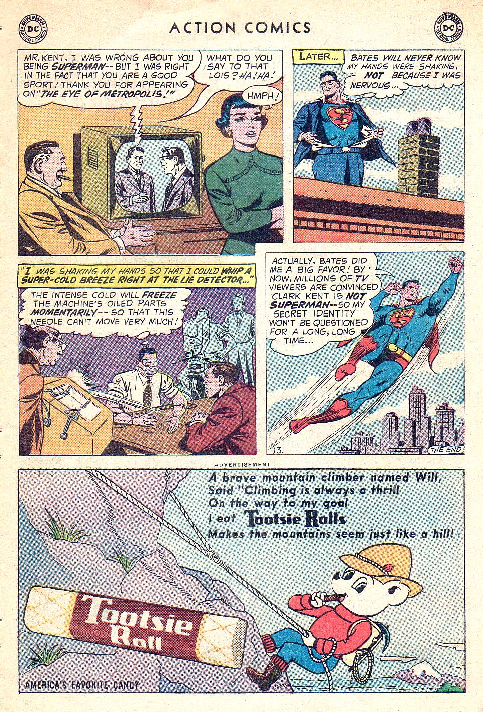 Read online Action Comics (1938) comic -  Issue #250 - 15