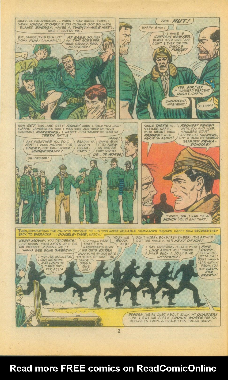 Read online Sgt. Fury comic -  Issue #135 - 4