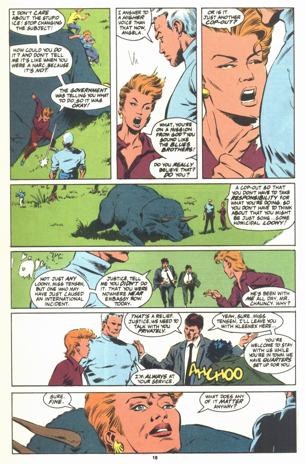 Read online Justice (1986) comic -  Issue #23 - 12