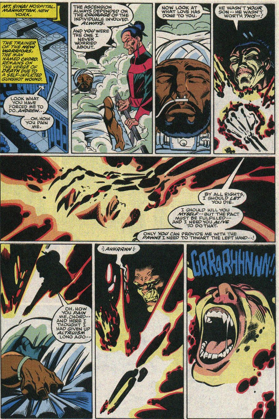 The New Warriors Issue #22 #26 - English 5