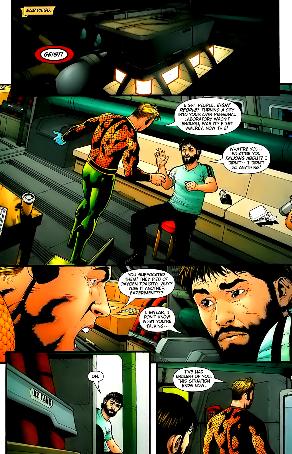 Read online Aquaman (2003) comic -  Issue #30 - 11