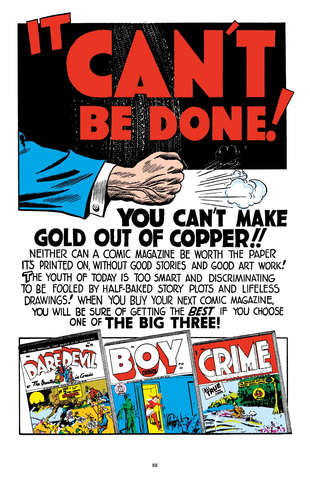 Read online Crime Does Not Pay Archives comic -  Issue # TPB 9 (Part 1) - 90