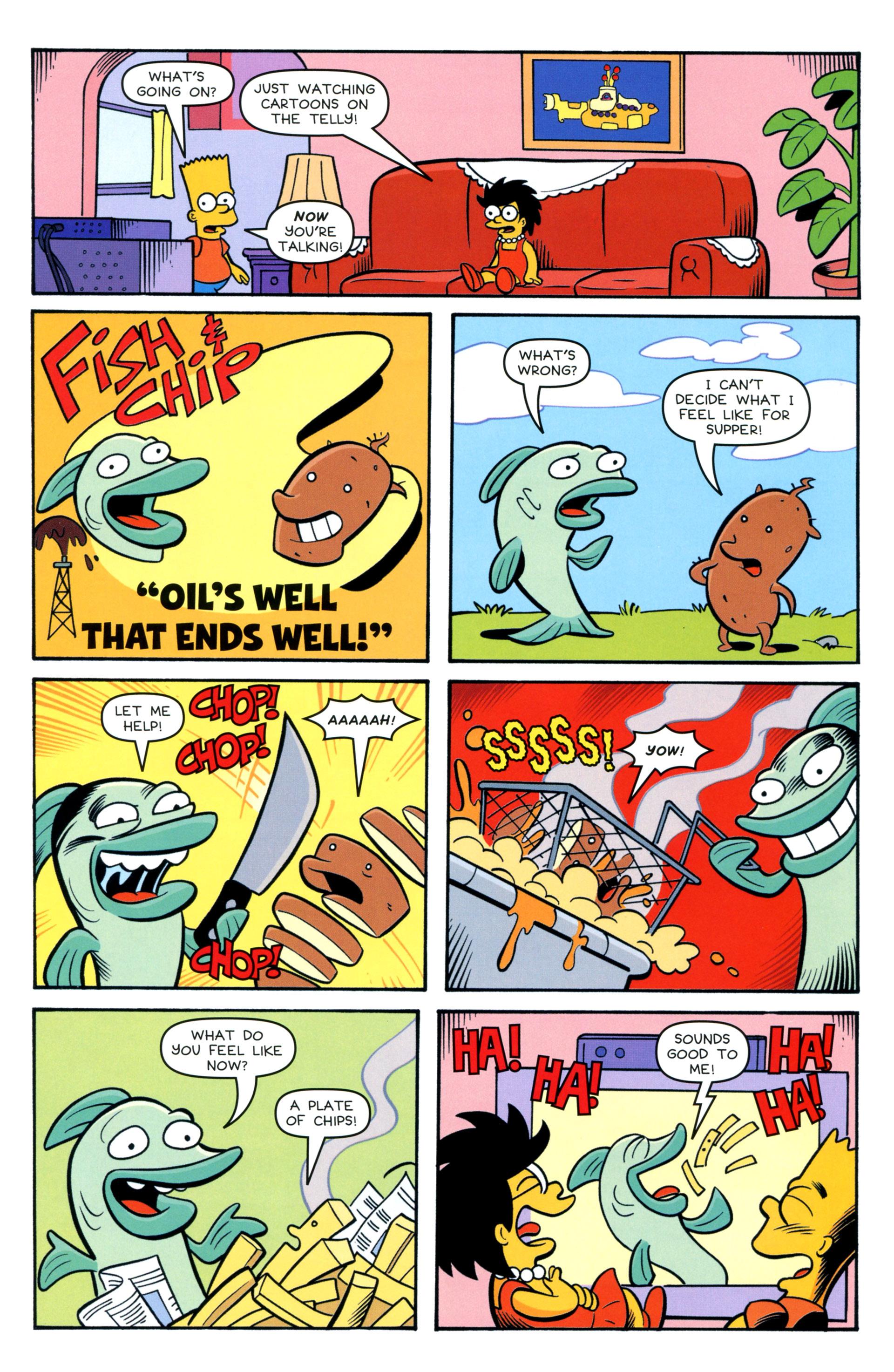 Read online Simpsons Comics comic -  Issue #208 - 14
