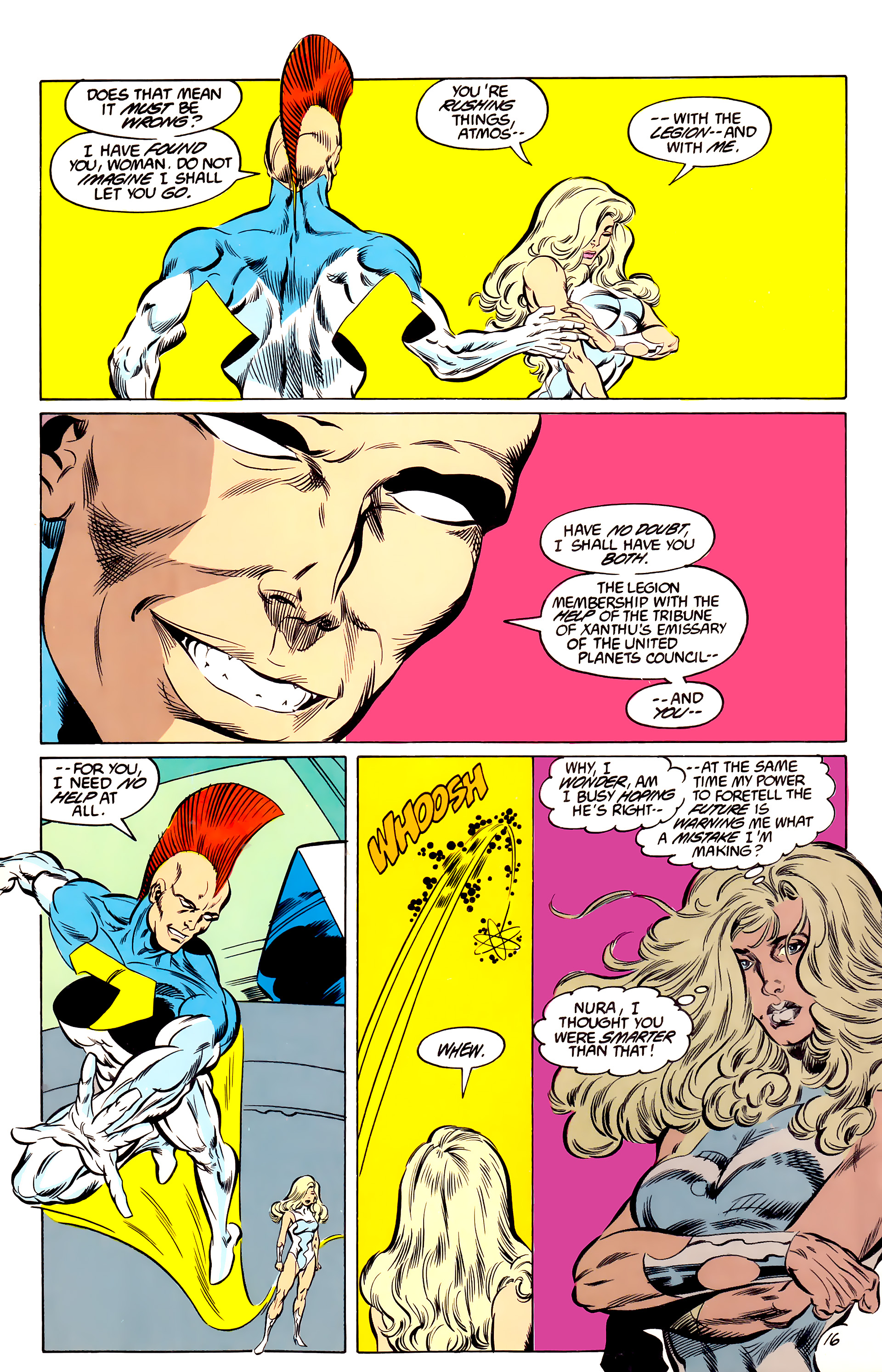 Legion of Super-Heroes (1984) 44 Page 16