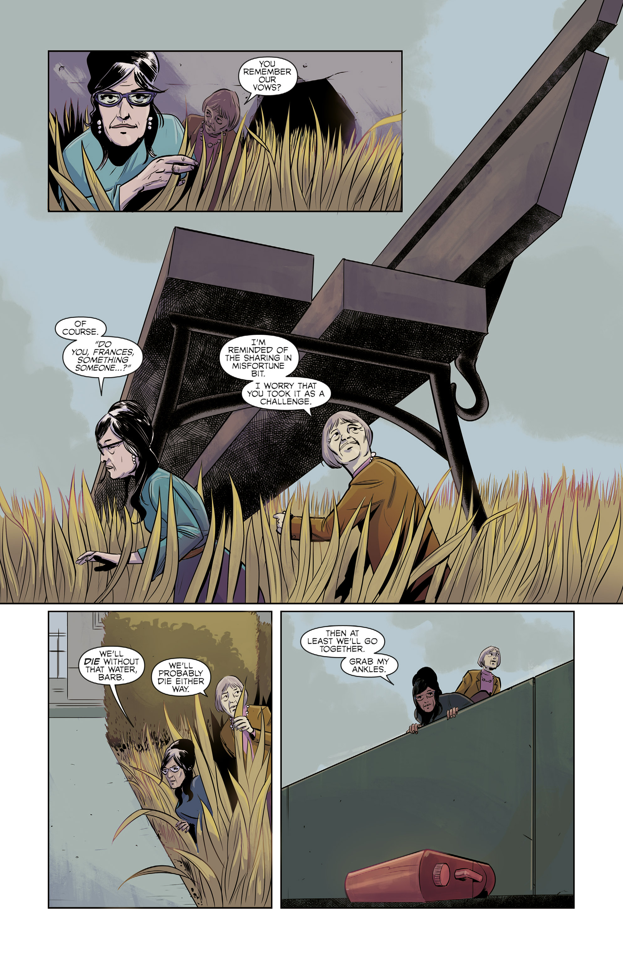 Read online Colossi comic -  Issue #2 - 3