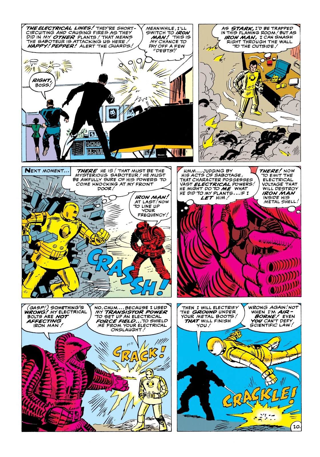Read online Marvel Masterworks: The Invincible Iron Man comic -  Issue # TPB 1 (Part 2) - 16