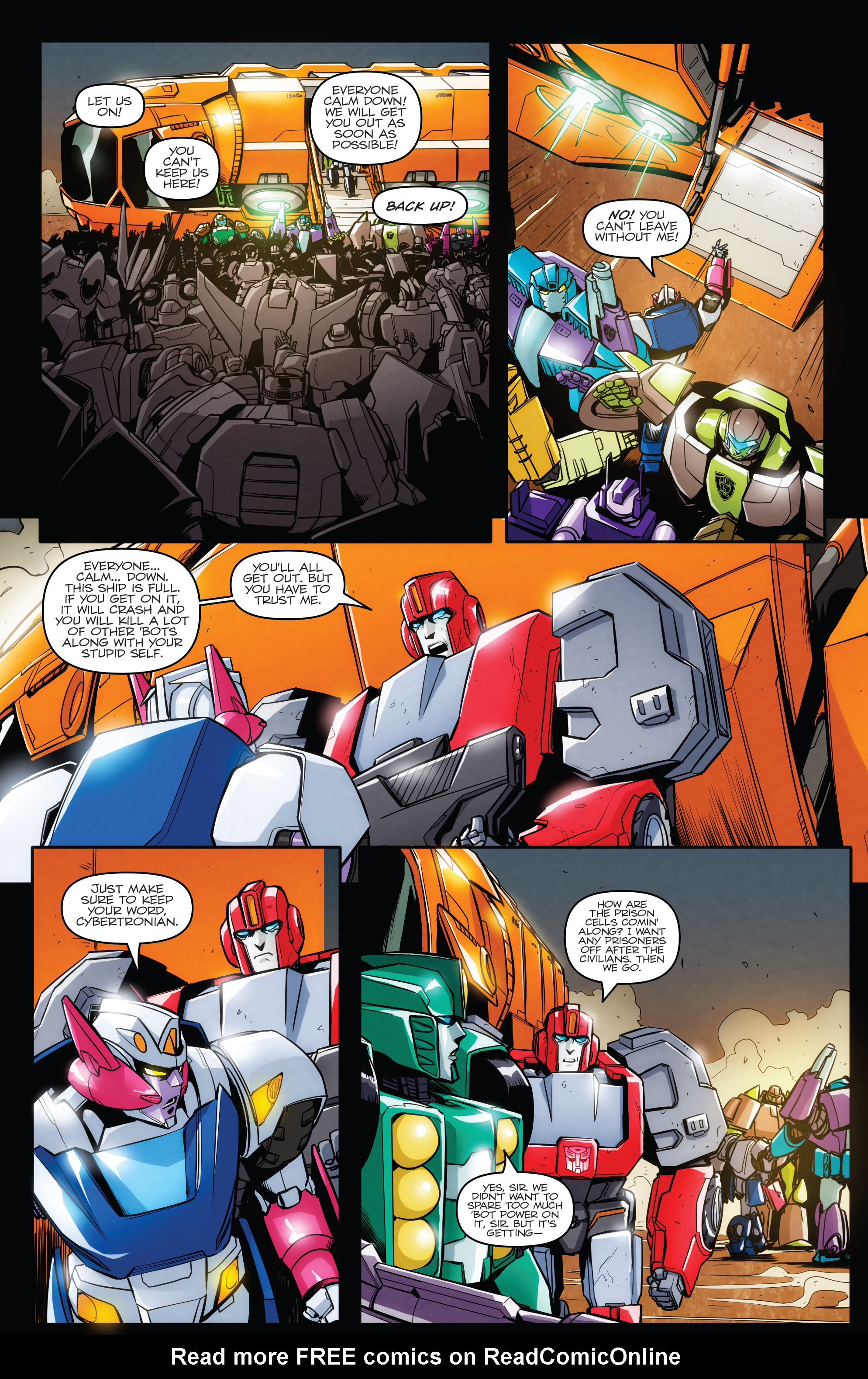 Read online Transformers: Till All Are One comic -  Issue #6 - 16