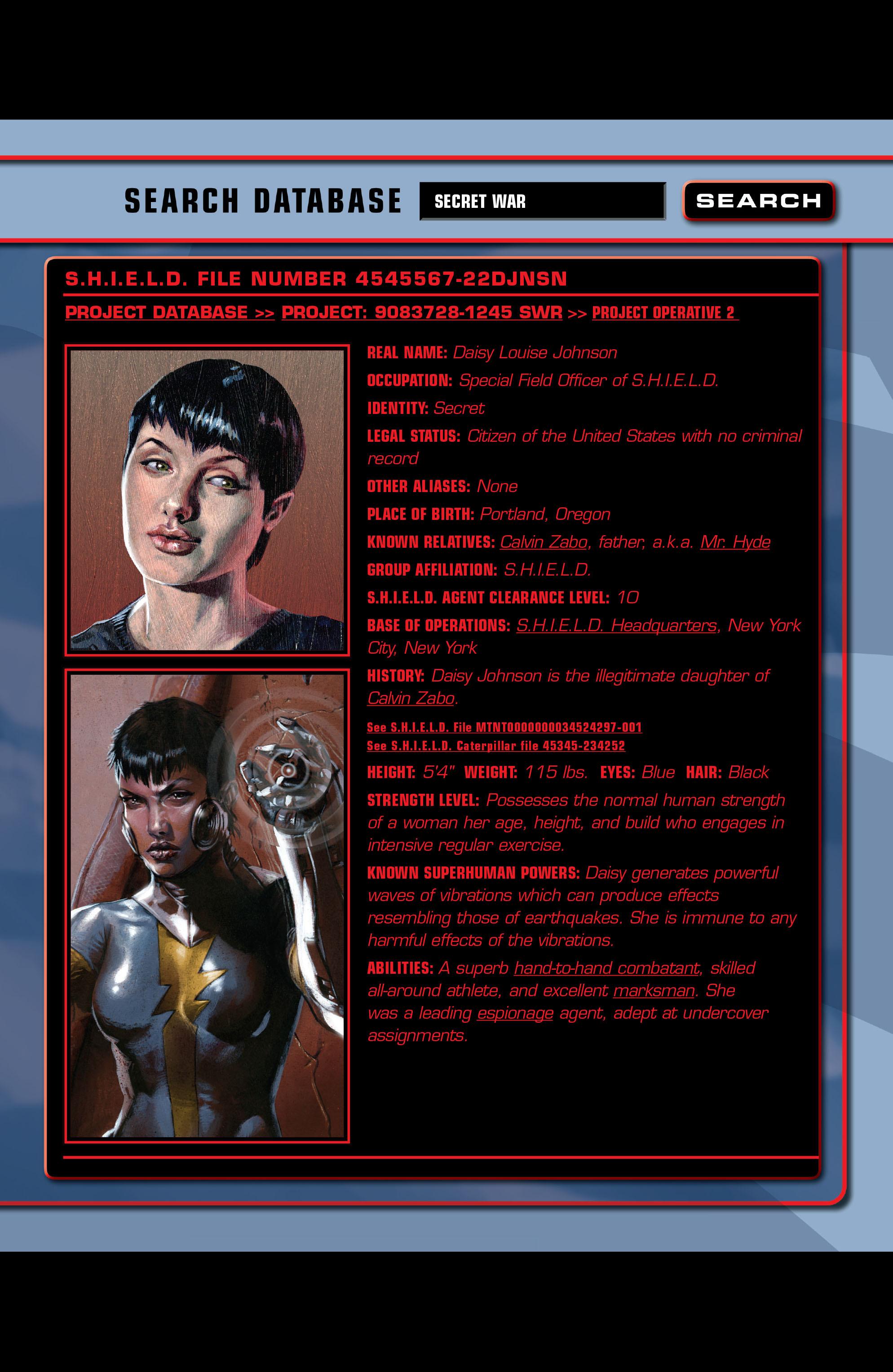 Read online Secret War comic -  Issue # Full - 95