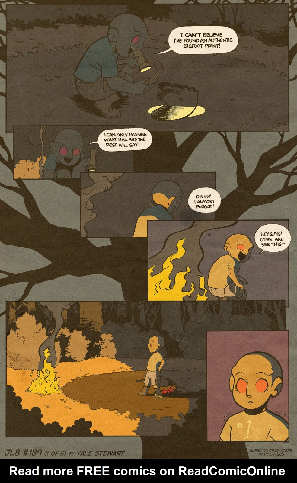 Read online JL8 – The Complete Collection comic -  Issue # TPB (Part 1) - 99