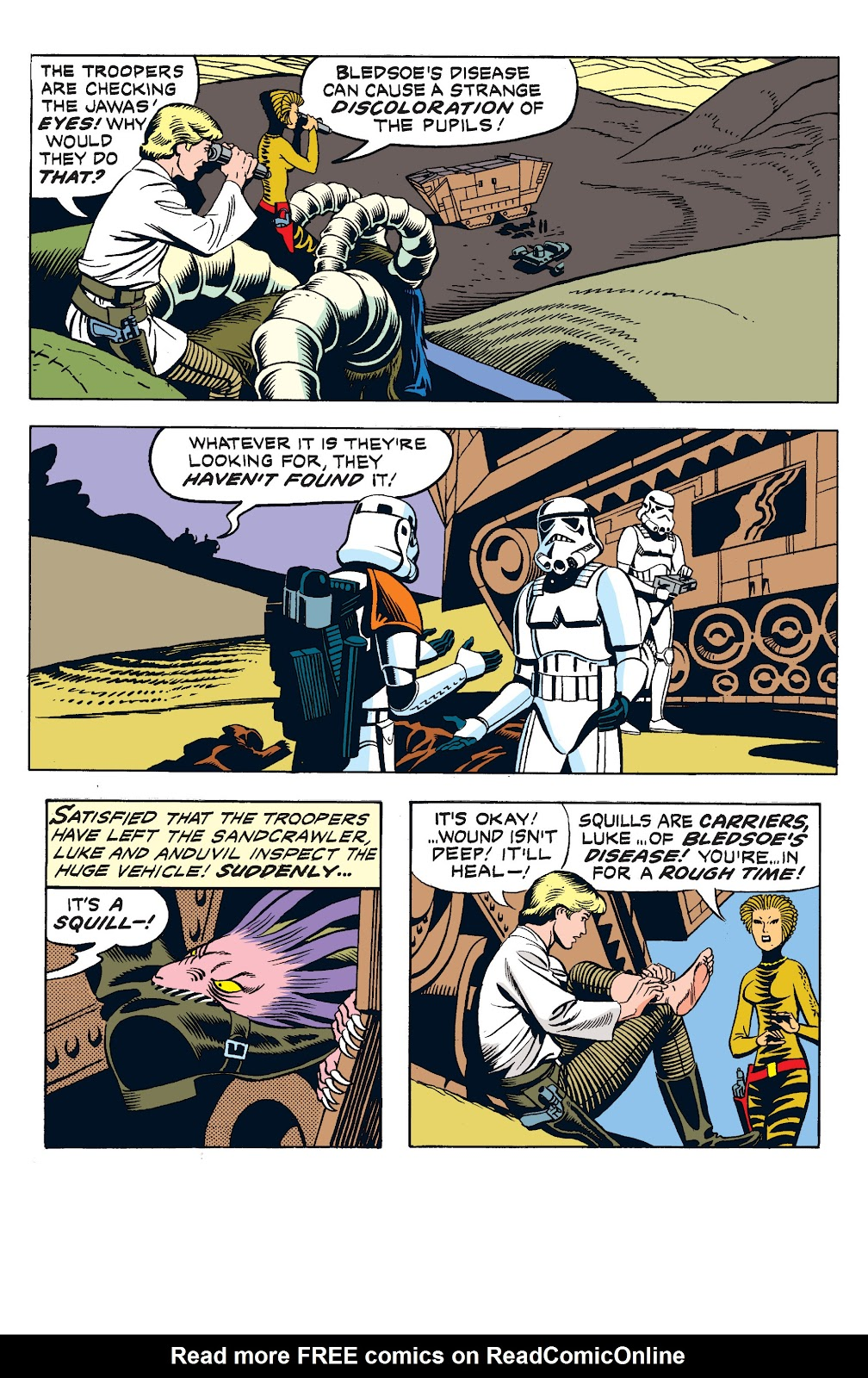 Read online Star Wars Legends: The Newspaper Strips - Epic Collection comic -  Issue # TPB (Part 2) - 37