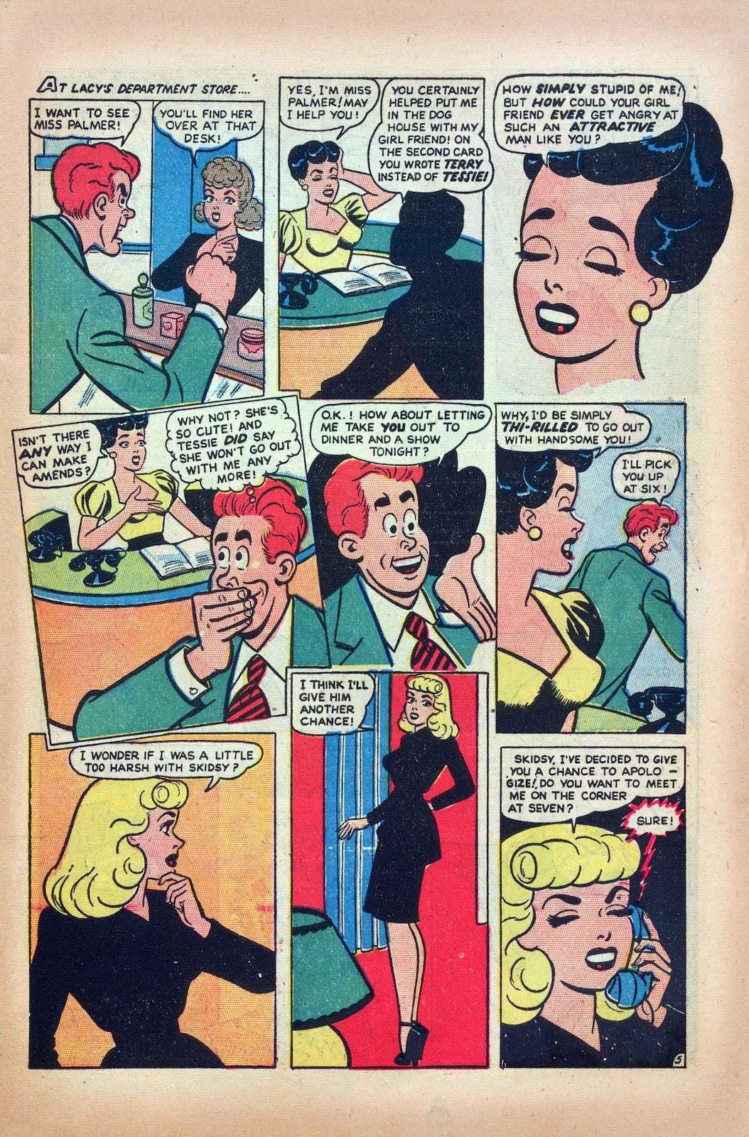 Tessie the Typist issue 16 - Page 7