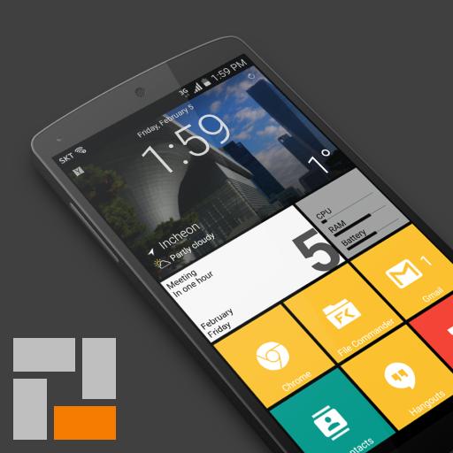 SquareHome 2 – Launcher: Windows style v1.4.5 [Premium]
