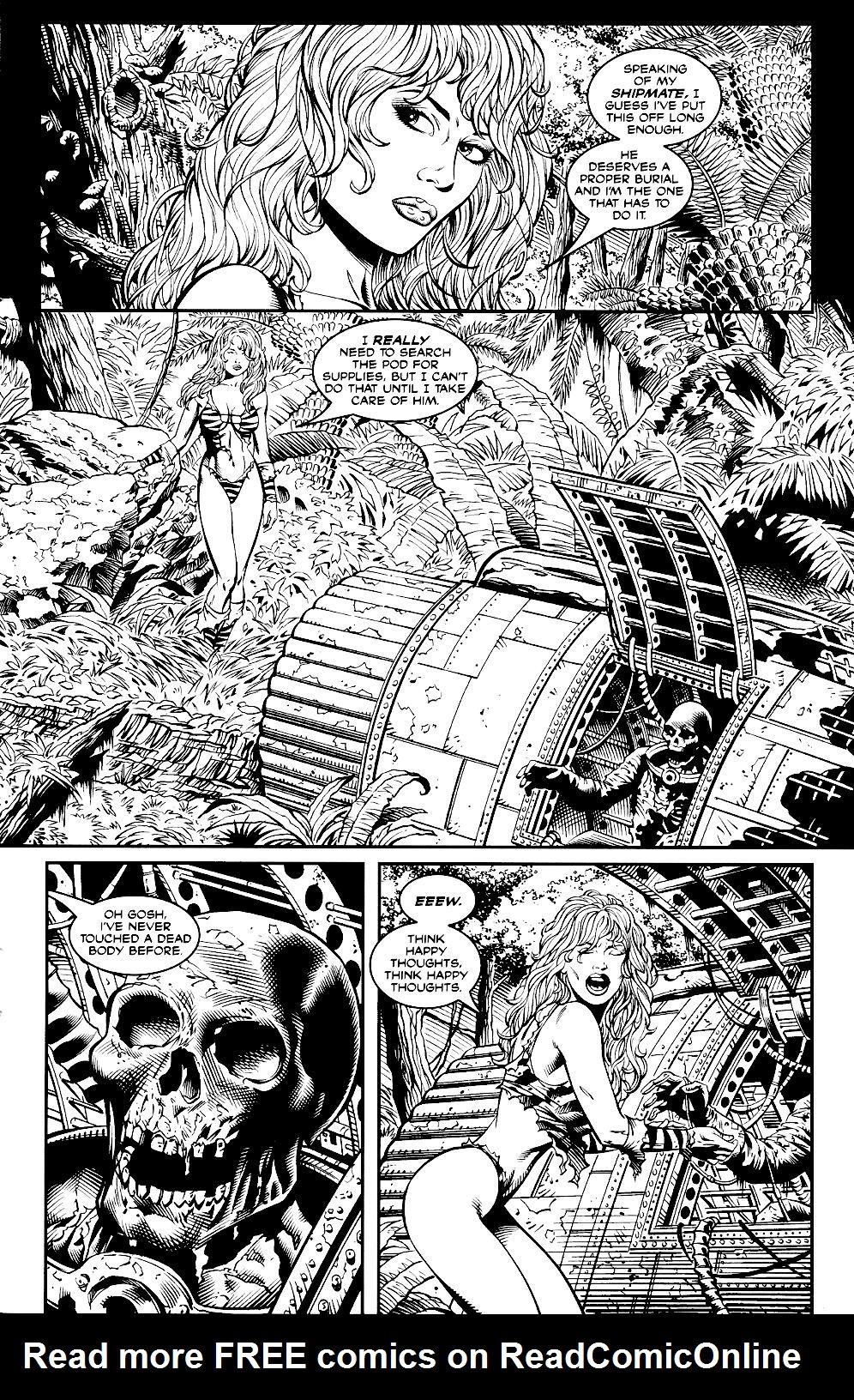 Read online Jungle Fantasy (2002) comic -  Issue #2 - 7