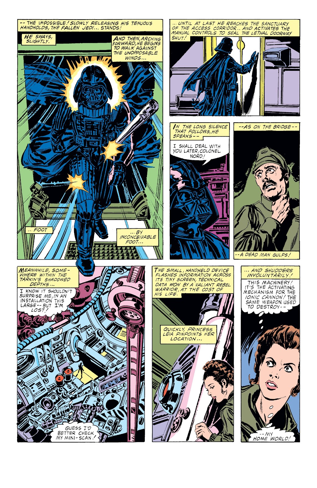 Read online Star Wars Legends: The Original Marvel Years - Epic Collection comic -  Issue # TPB 3 (Part 4) - 1
