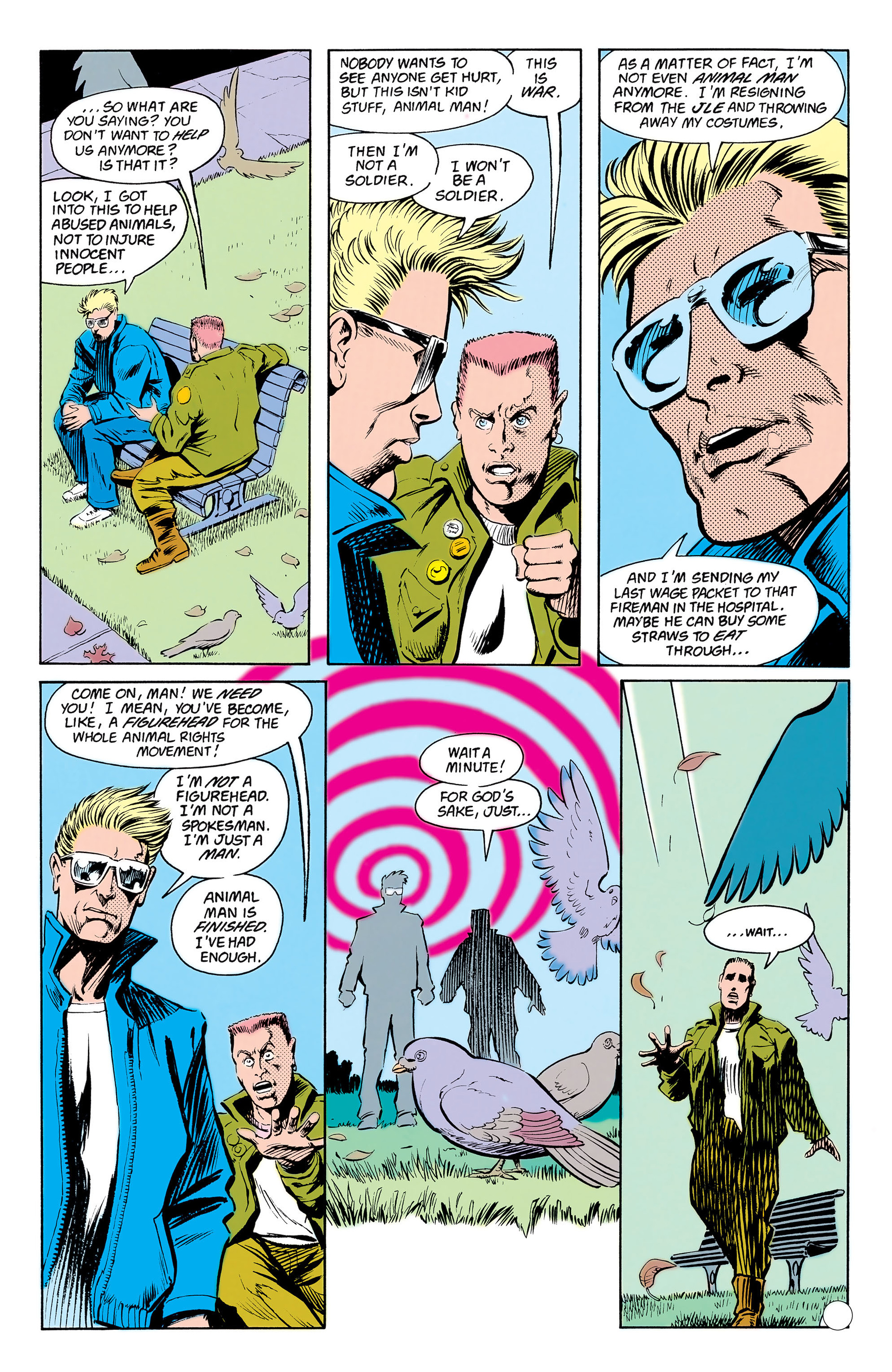 Read online Animal Man (1988) comic -  Issue #17 - 23
