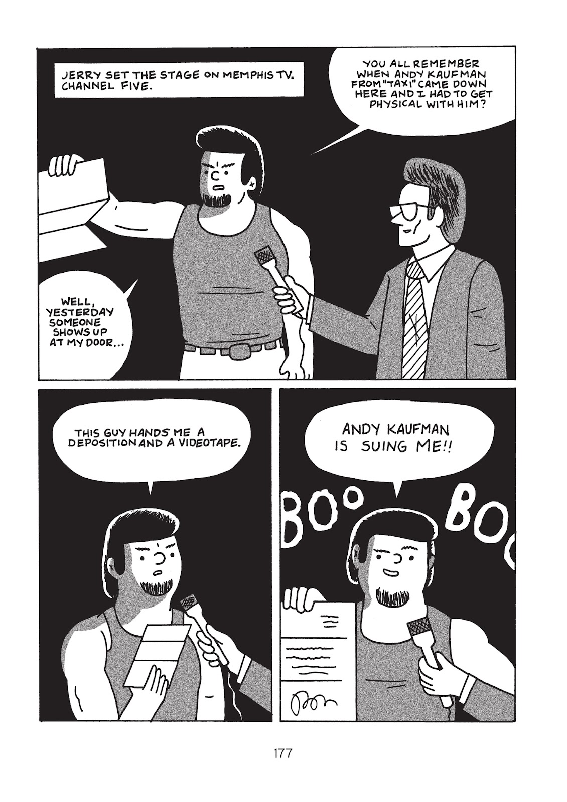 Read online Is This Guy For Real?: The Unbelievable Andy Kaufman comic -  Issue # TPB (Part 2) - 82