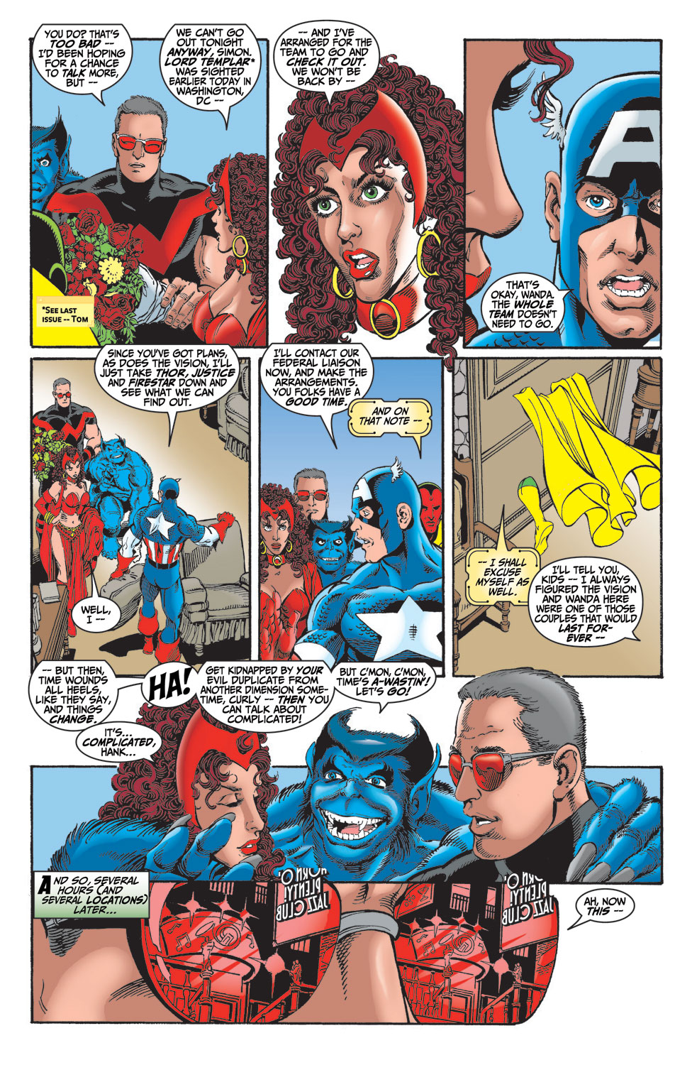 Read online Avengers (1998) comic -  Issue #14 - 6