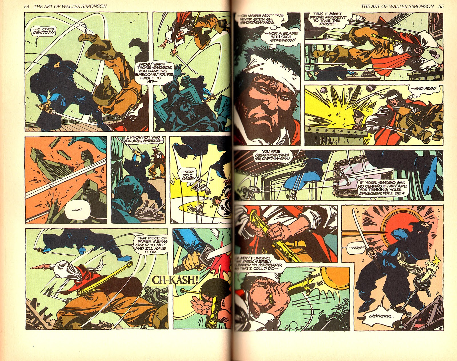 Read online The Art of Walter Simonson comic -  Issue # TPB - 29